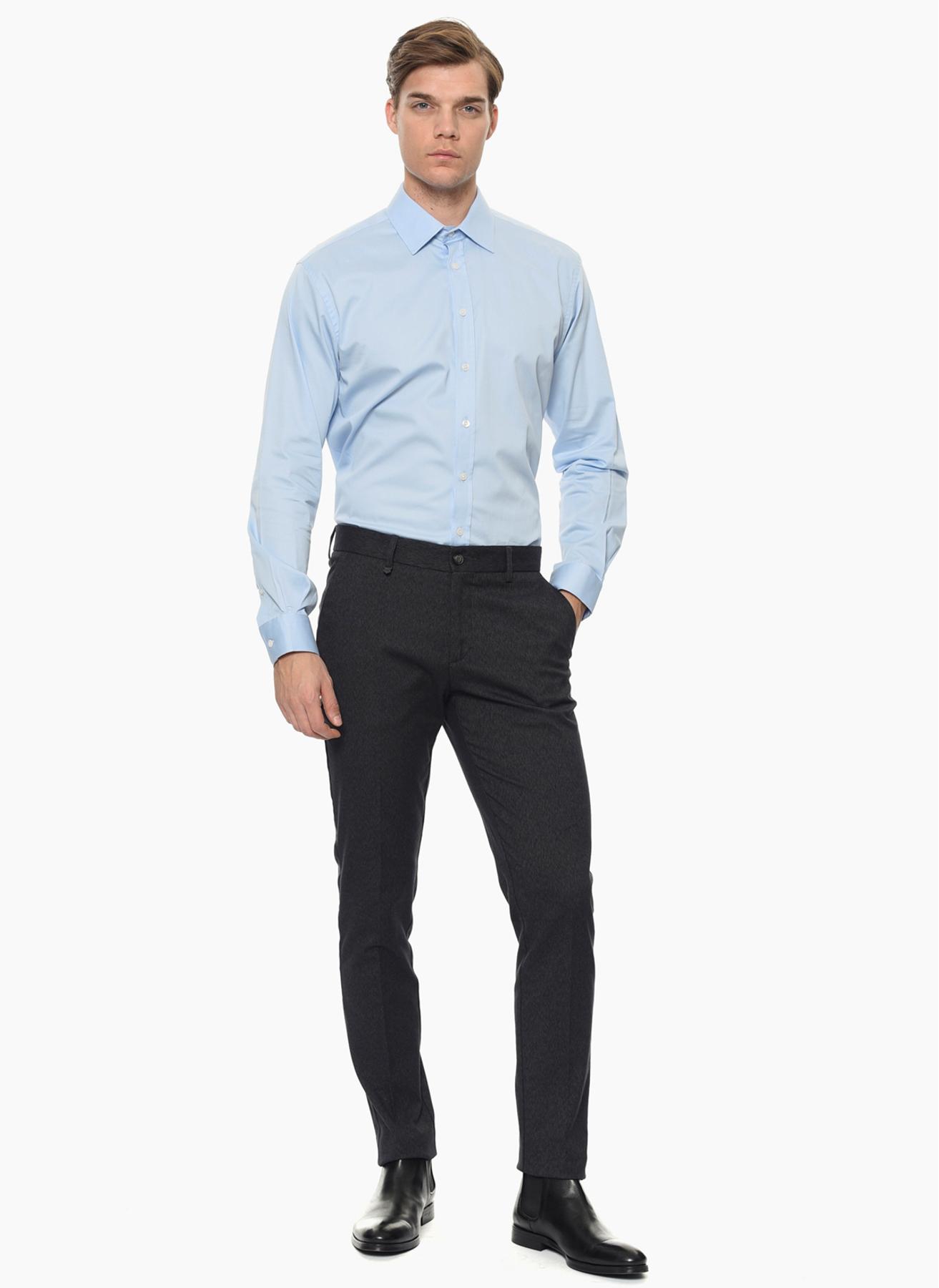 George Hogg Açık Mavi Gömlek 42 5001699353004 Ürün Resmi