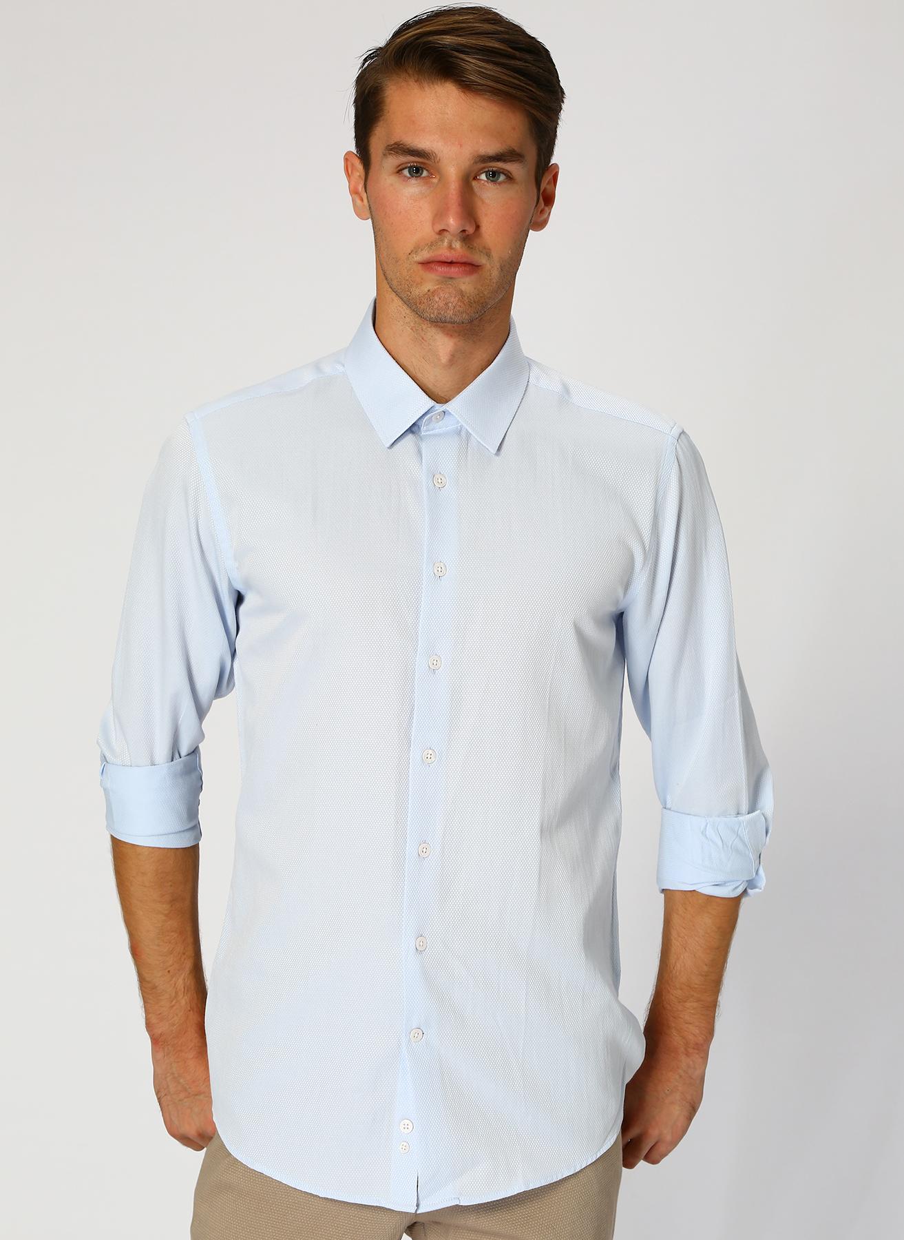 George Hogg Mavi Gömlek 41 5001699359003 Ürün Resmi