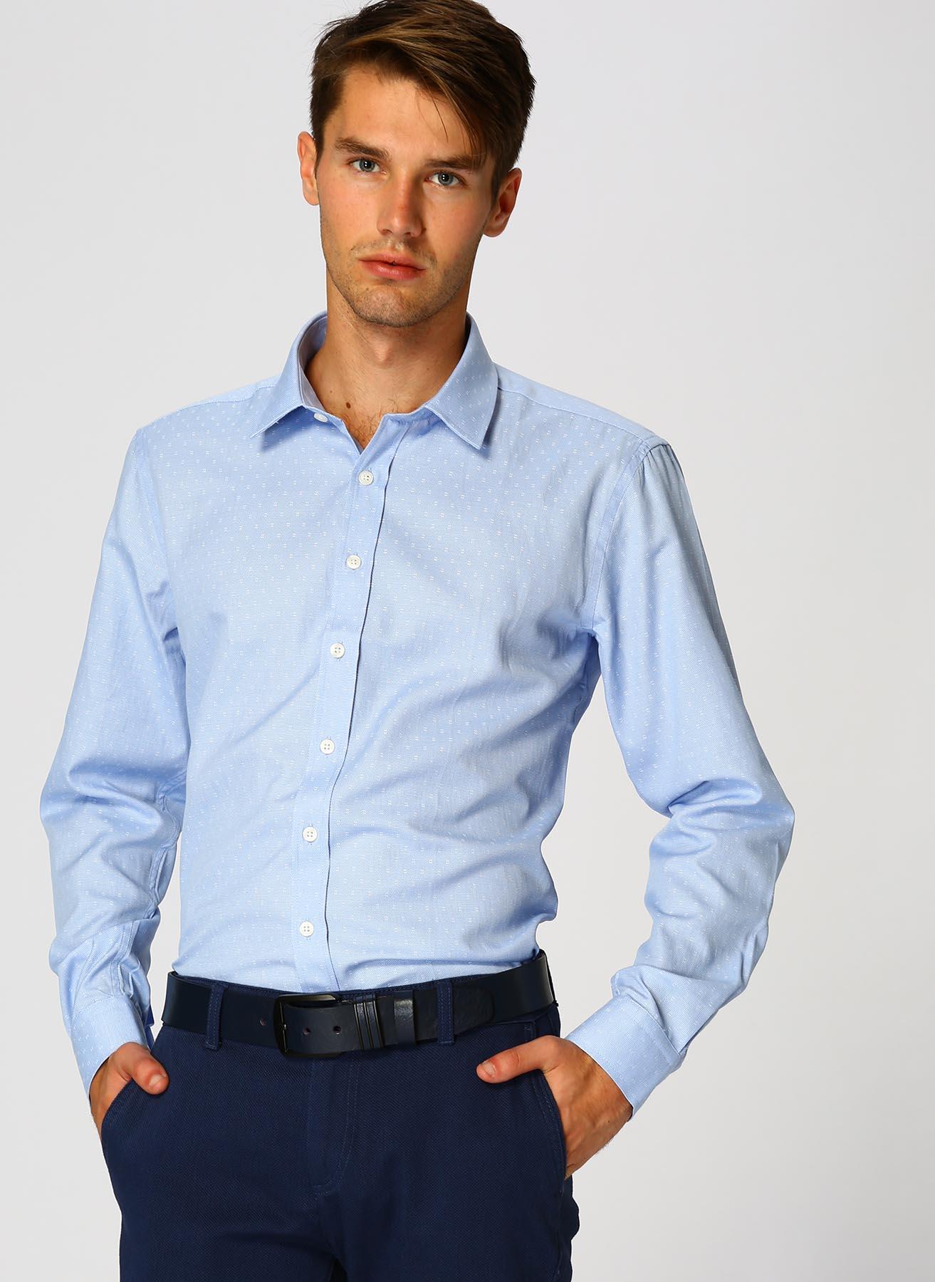 George Hogg Mavi Gömlek 39 5001699361001 Ürün Resmi
