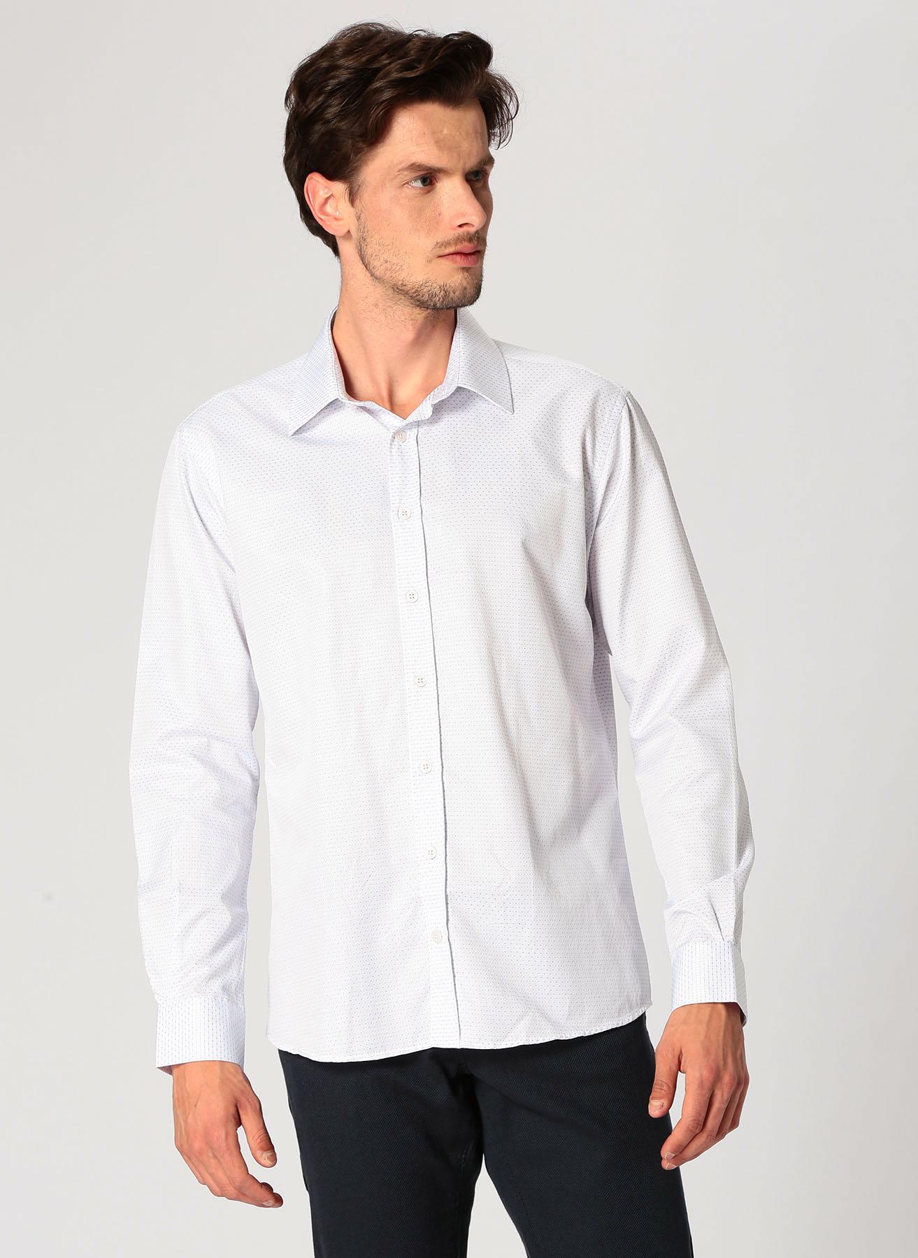 George Hogg Beyaz Gömlek 41 5001699363003 Ürün Resmi