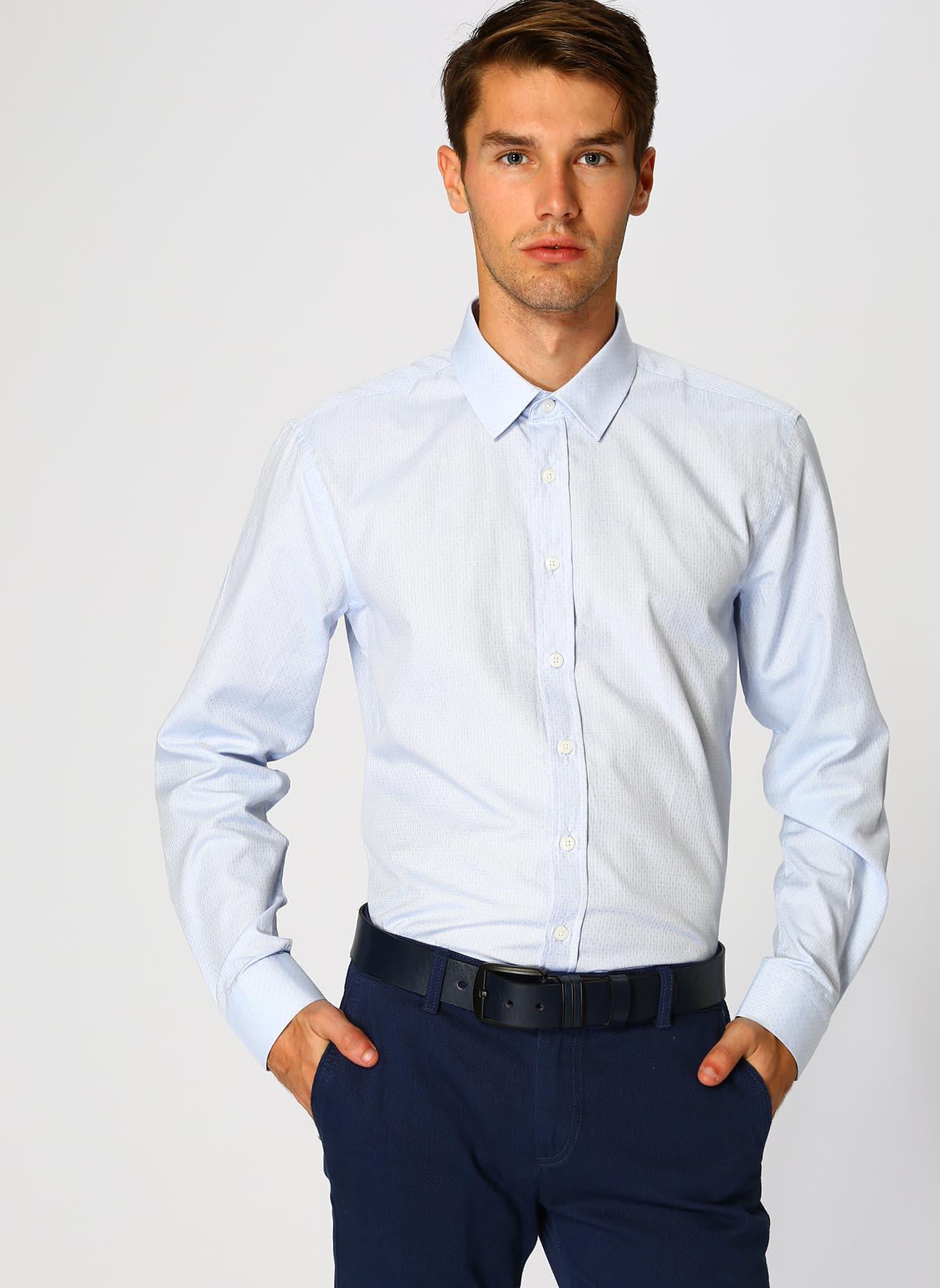 George Hogg Mavi Gömlek 43 5001699364005 Ürün Resmi