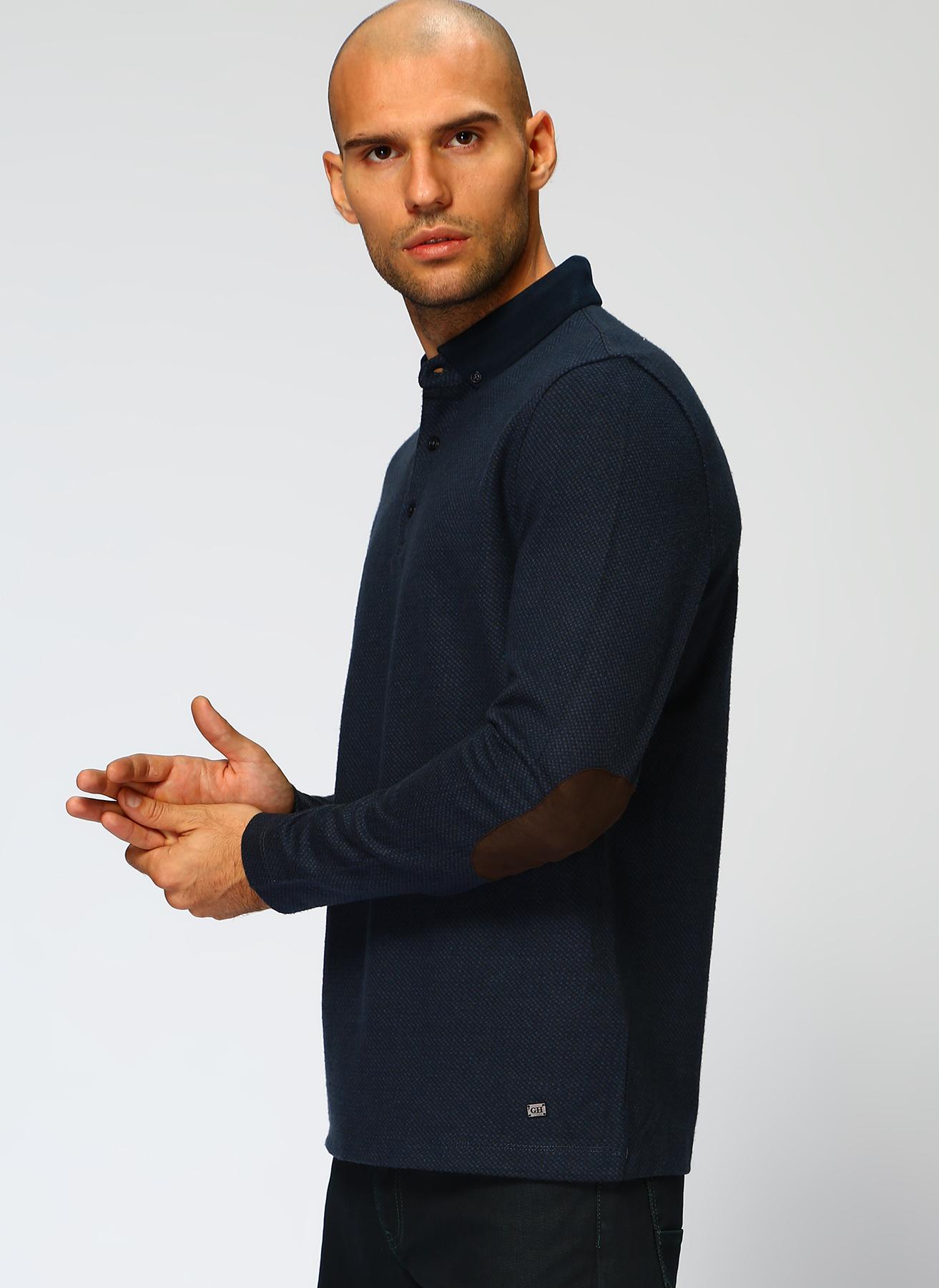 George Hogg Koyu Lacivert Sweatshirt S 5001699368001 Ürün Resmi