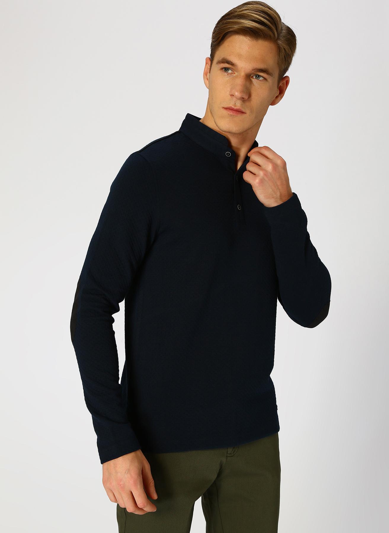 George Hogg Mavi Sweatshirt S 5001699375001 Ürün Resmi