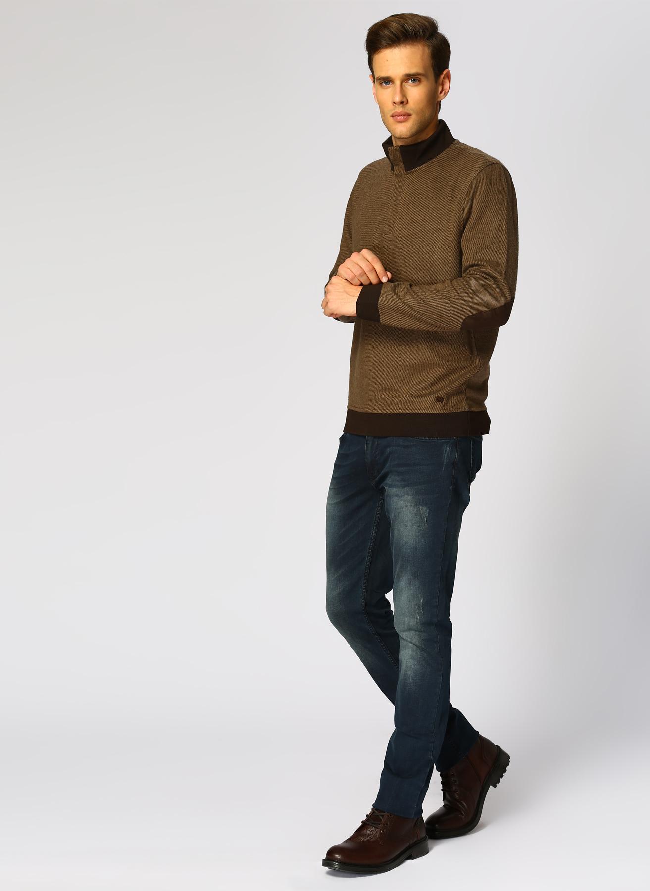George Hogg Bej Sweatshirt S 5001699378001 Ürün Resmi