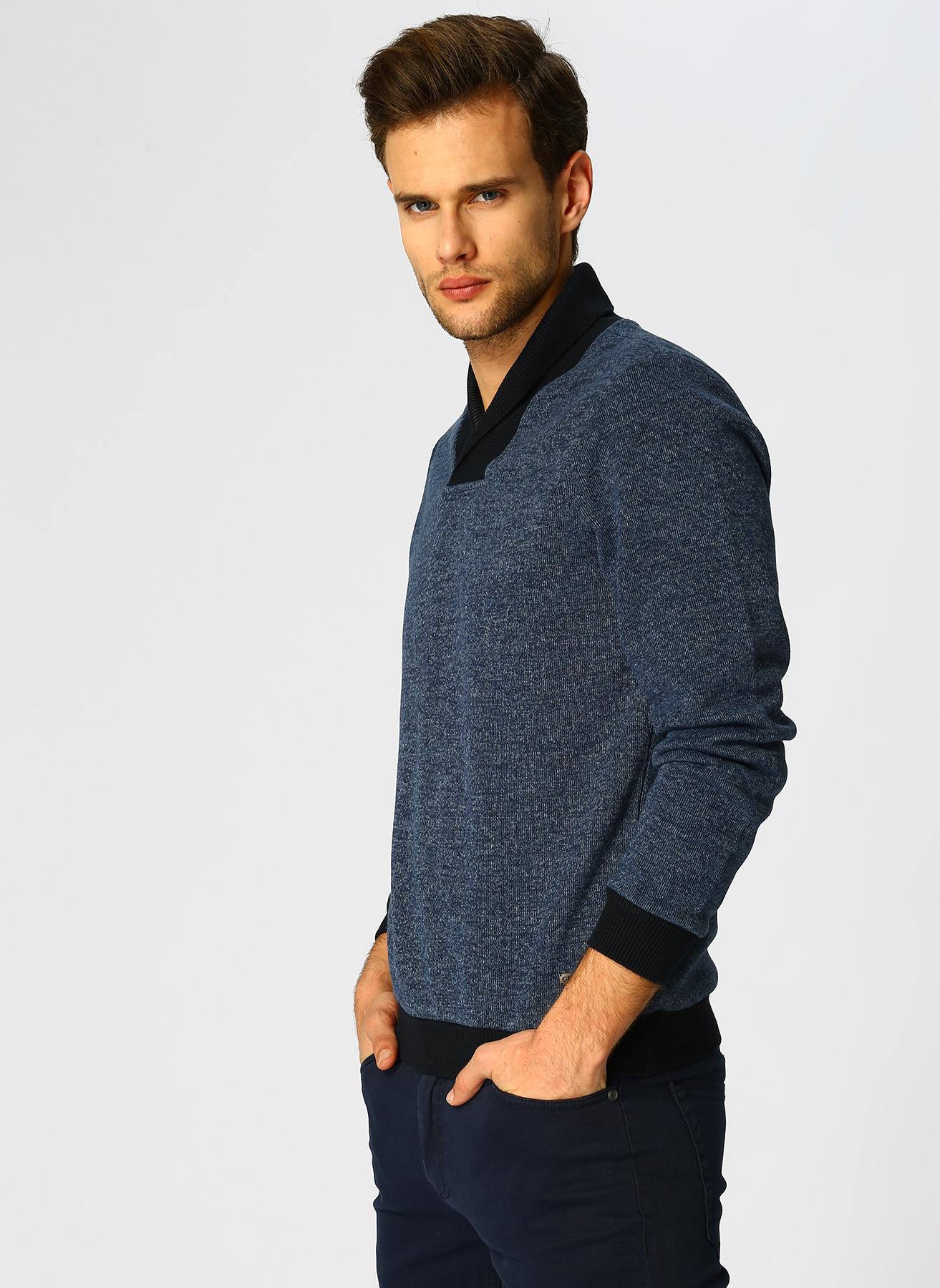 George Hogg Lacivert Sweatshirt S 5001699385001 Ürün Resmi