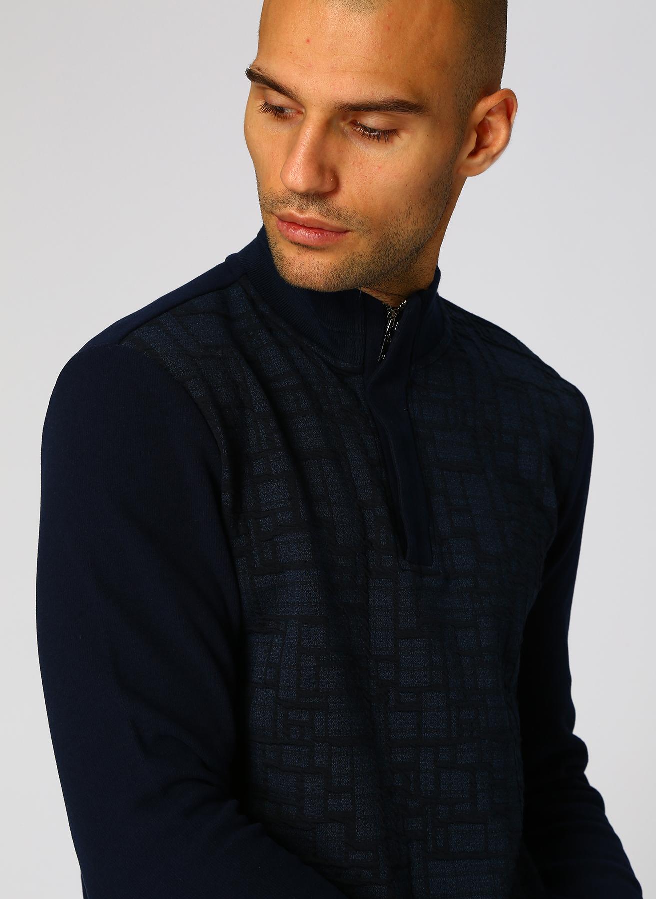 George Hogg Koyu Lacivert Sweatshirt M 5001699386002 Ürün Resmi