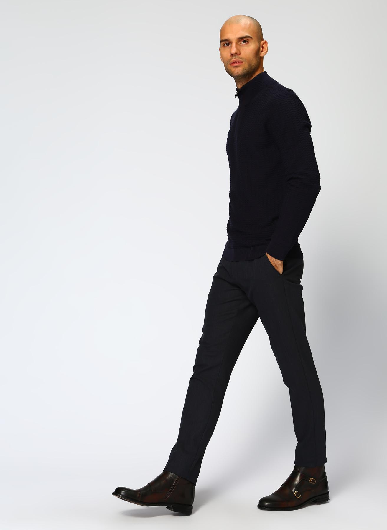 George Hogg Koyu Lacivert Klasik Pantolon 50-6 5001699424003 Ürün Resmi