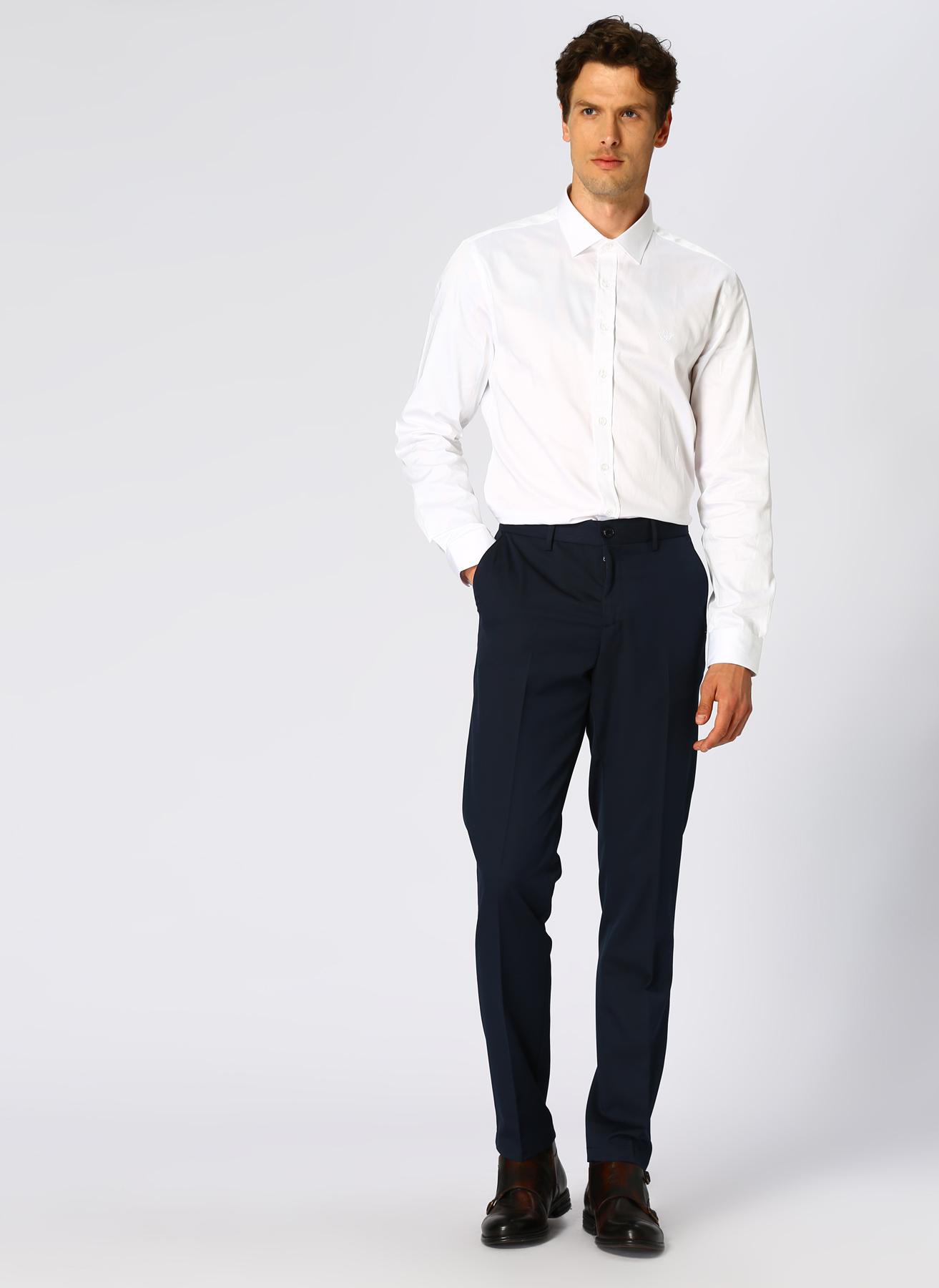 George Hogg Koyu Lacivert Klasik Pantolon 56-6 5001699428006 Ürün Resmi
