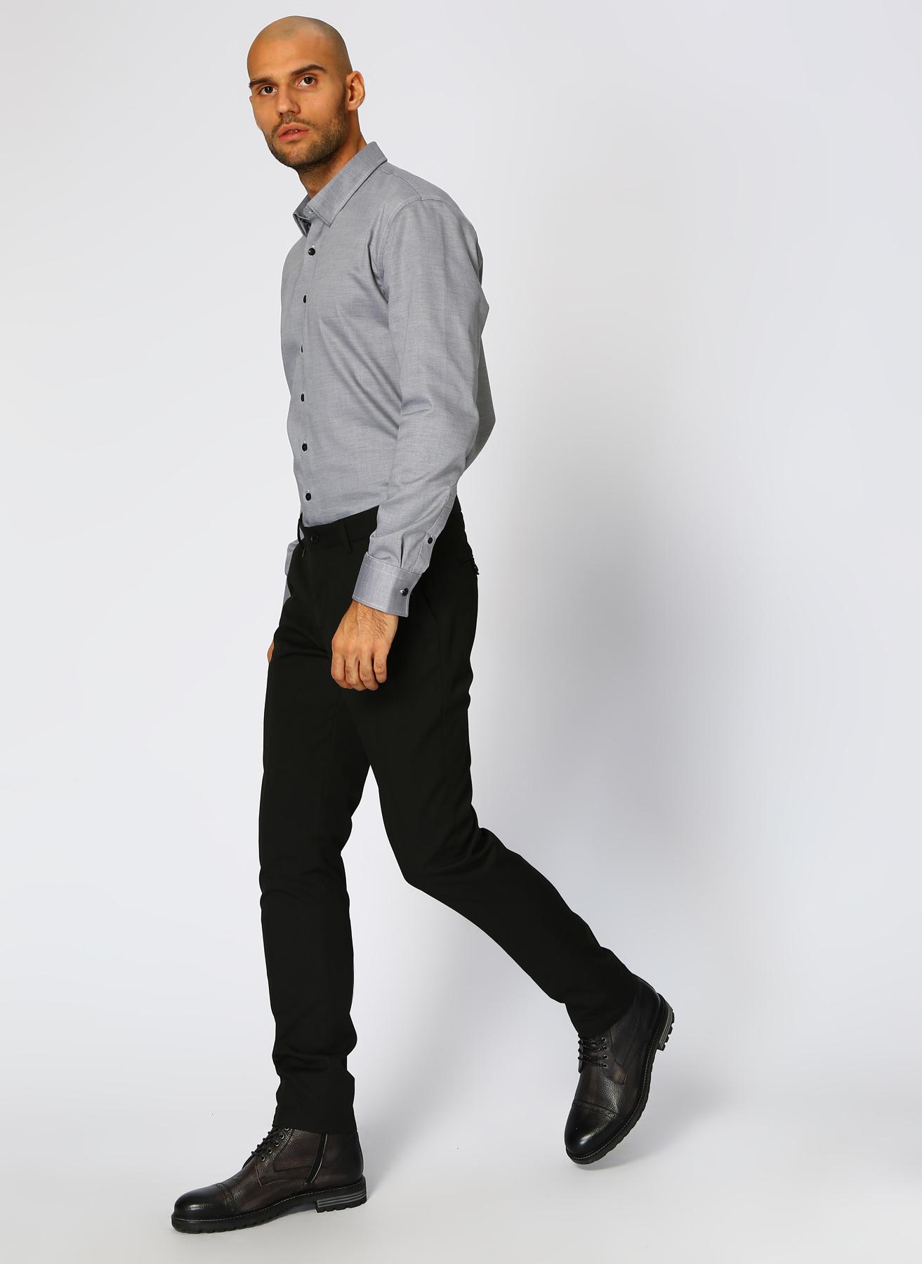 George Hogg Casual Siyah Klasik Pantolon 52-6 5001699429004 Ürün Resmi