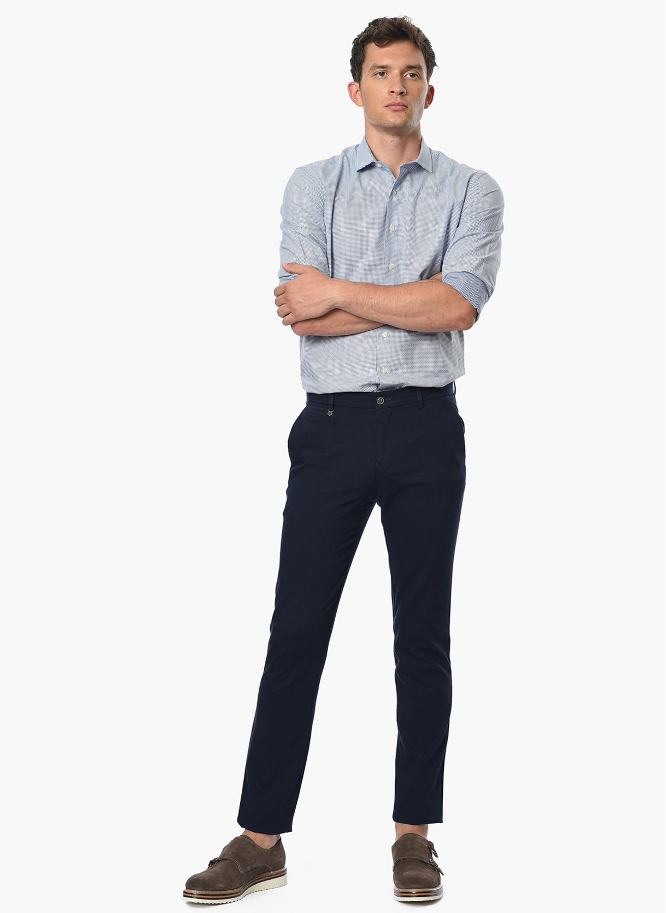 George Hogg Casual Lacivert Klasik Pantolon 50-6 5001699433003 Ürün Resmi