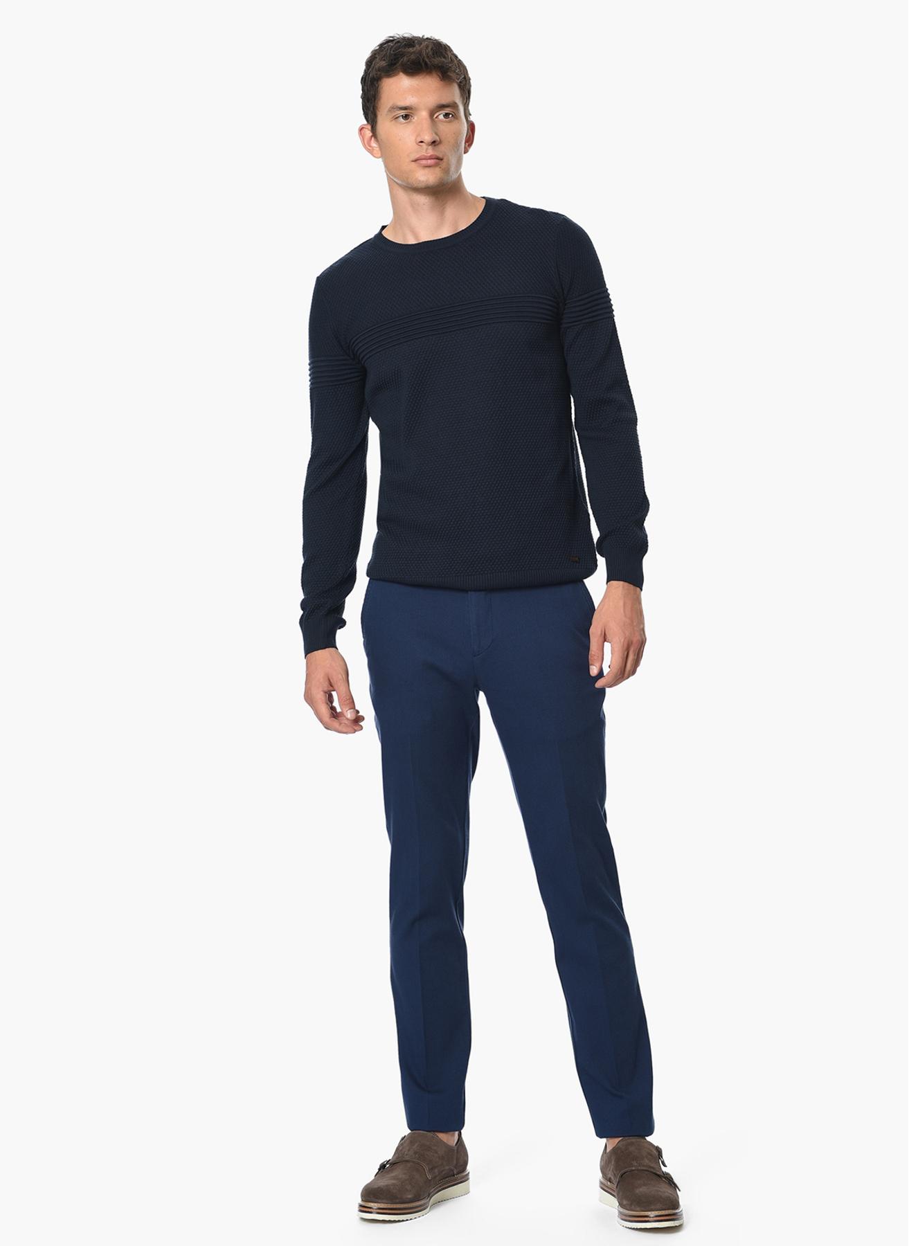 George Hogg Casual Lacivert Klasik Pantolon 56-6 5001699441006 Ürün Resmi