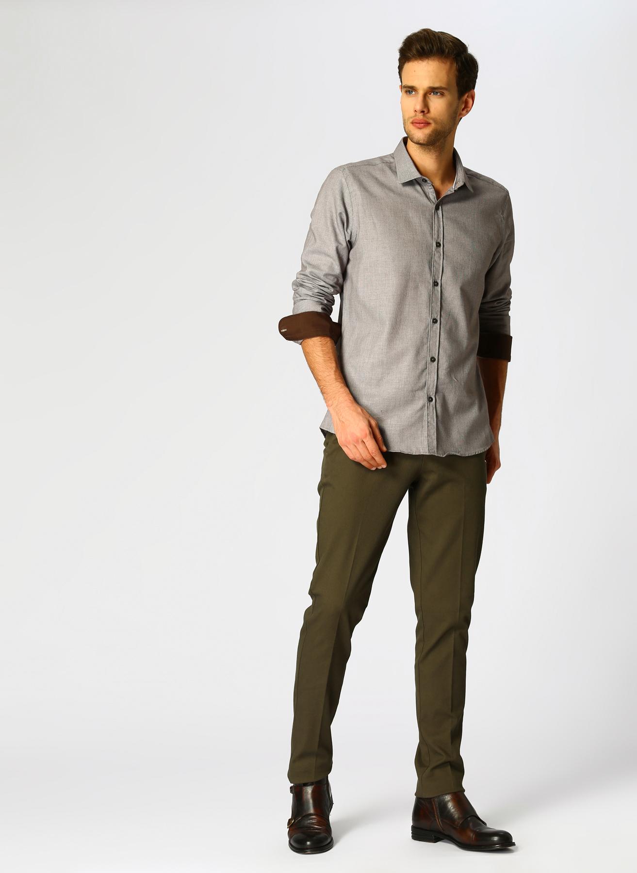George Hogg Casual Haki Klasik Pantolon 48-6 5001699445002 Ürün Resmi