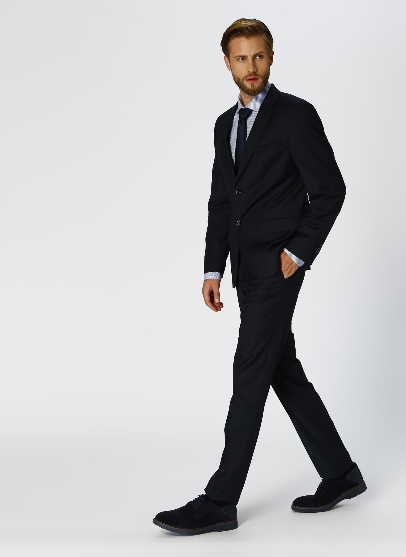 George Hogg Yün Lacivert Takım Elbise 54-6 5001699455005 Ürün Resmi