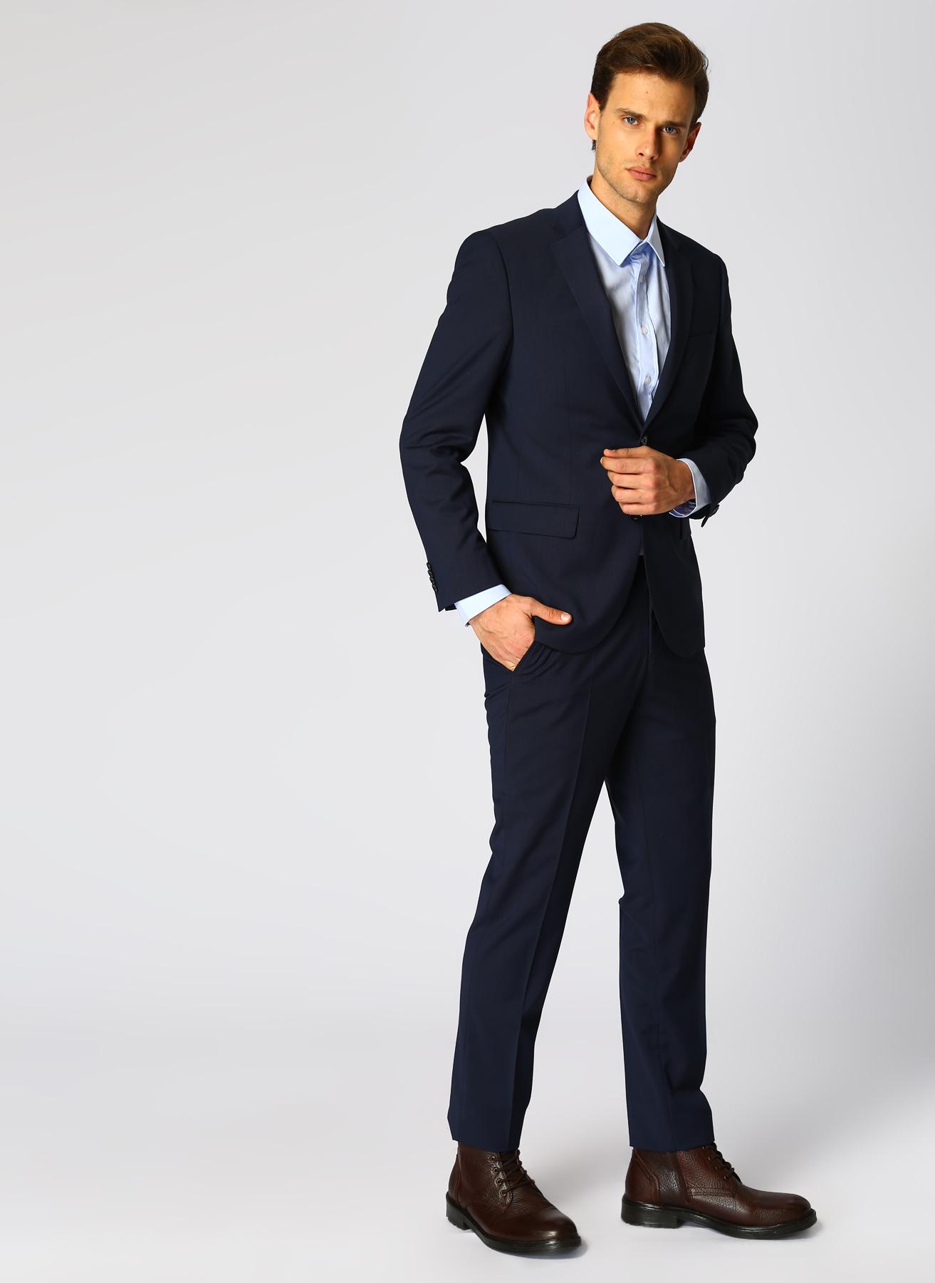 George Hogg Lacivert Takım Elbise 58-6 5001699457007 Ürün Resmi