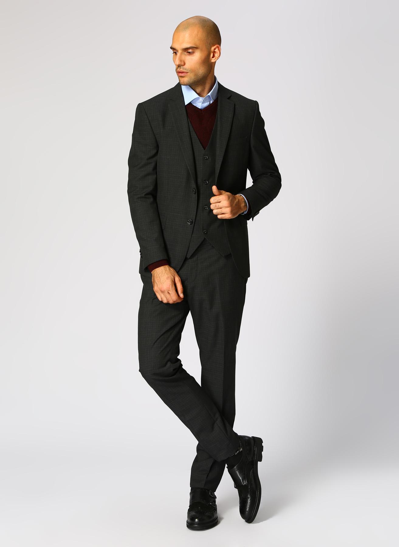 George Hogg Antrasit Takım Elbise 50-6 5001699458002 Ürün Resmi