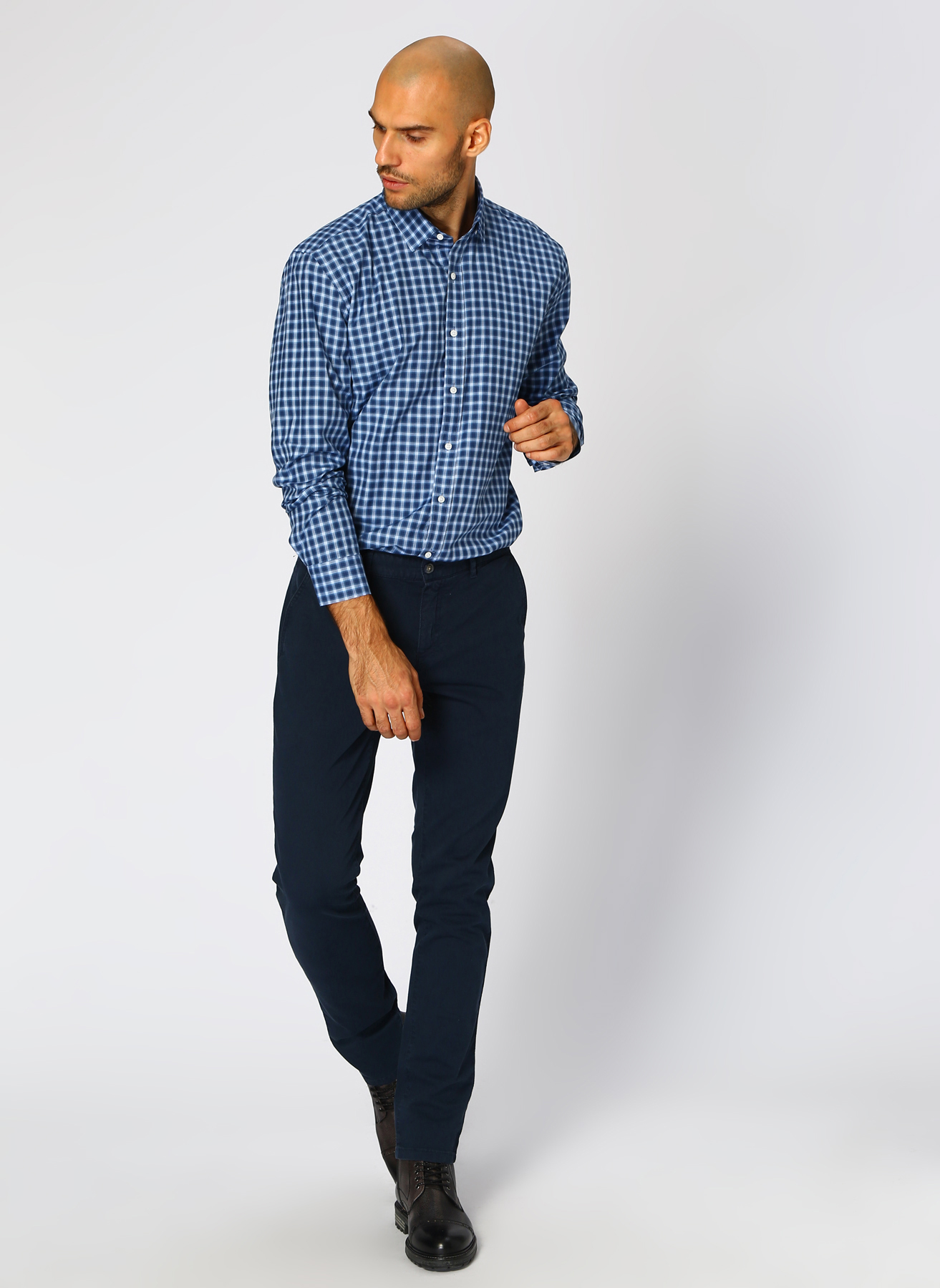 George Hogg Casual Lacivert Klasik Pantolon 46 5001699462001 Ürün Resmi