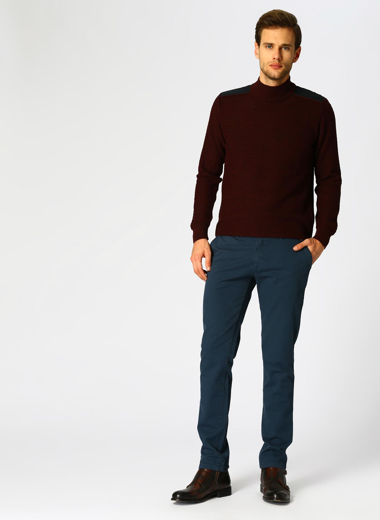 George Hogg Casual Mavi Klasik Pantolon 46 5001699464001 Ürün Resmi