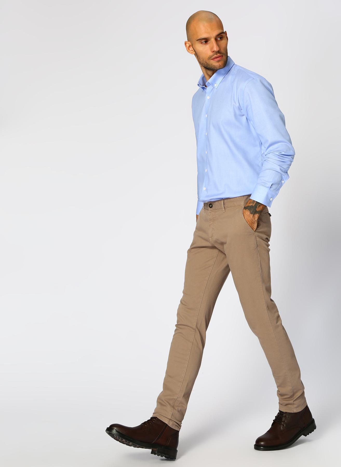 George Hogg Casual Vizon Klasik Pantolon 48 5001699466002 Ürün Resmi