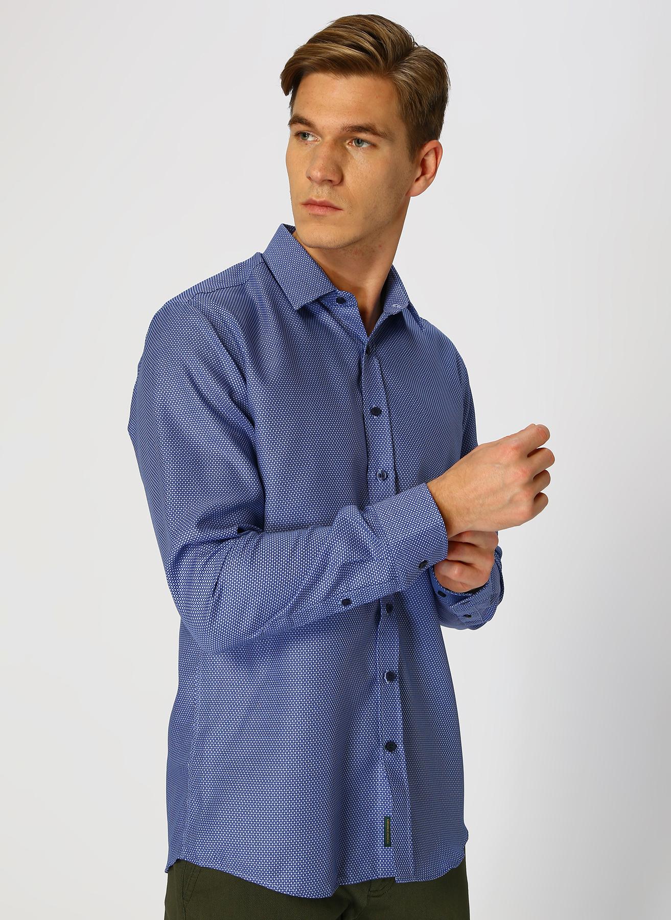 George Hogg Mavi Gömlek 44 5001699475006 Ürün Resmi