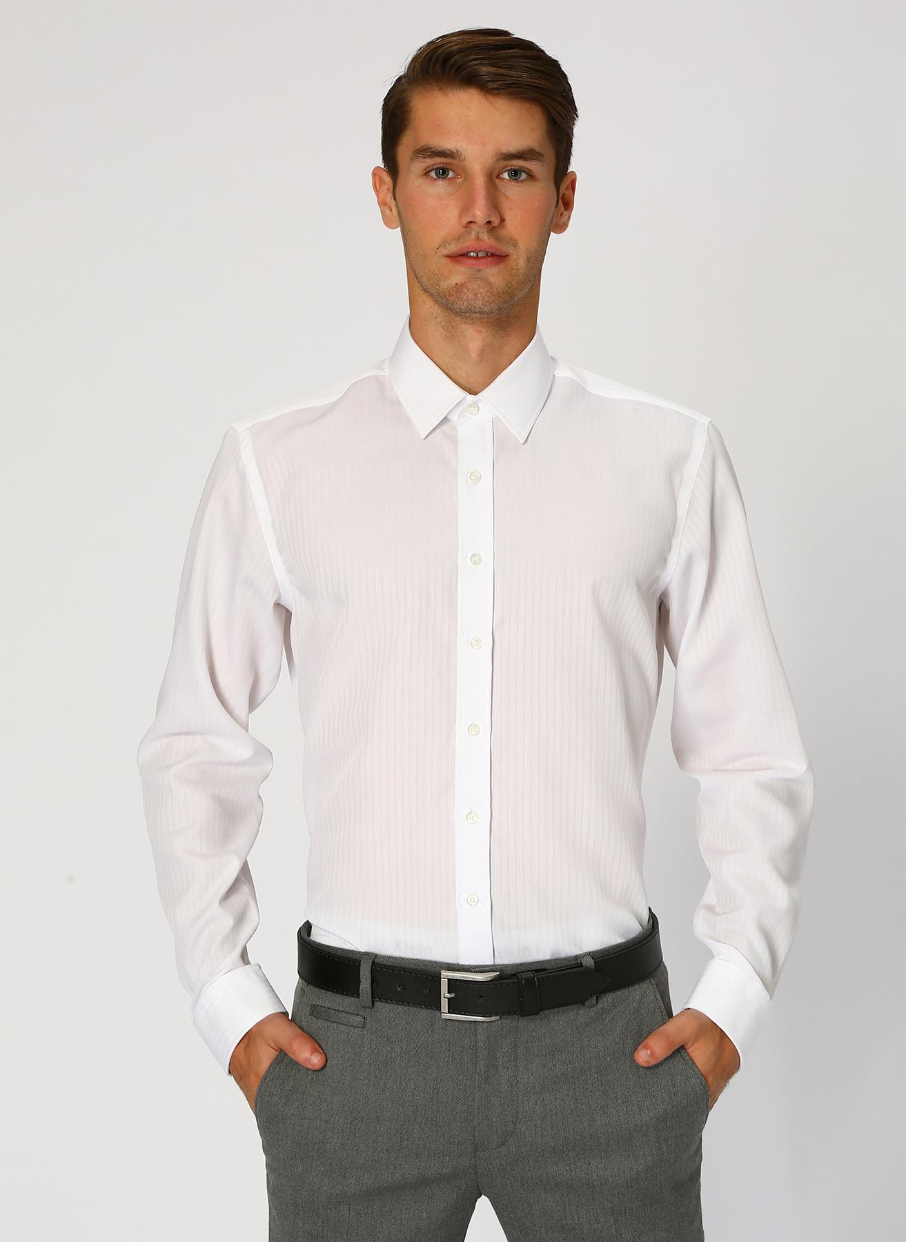 George Hogg Beyaz Gömlek 40 5001699478002 Ürün Resmi