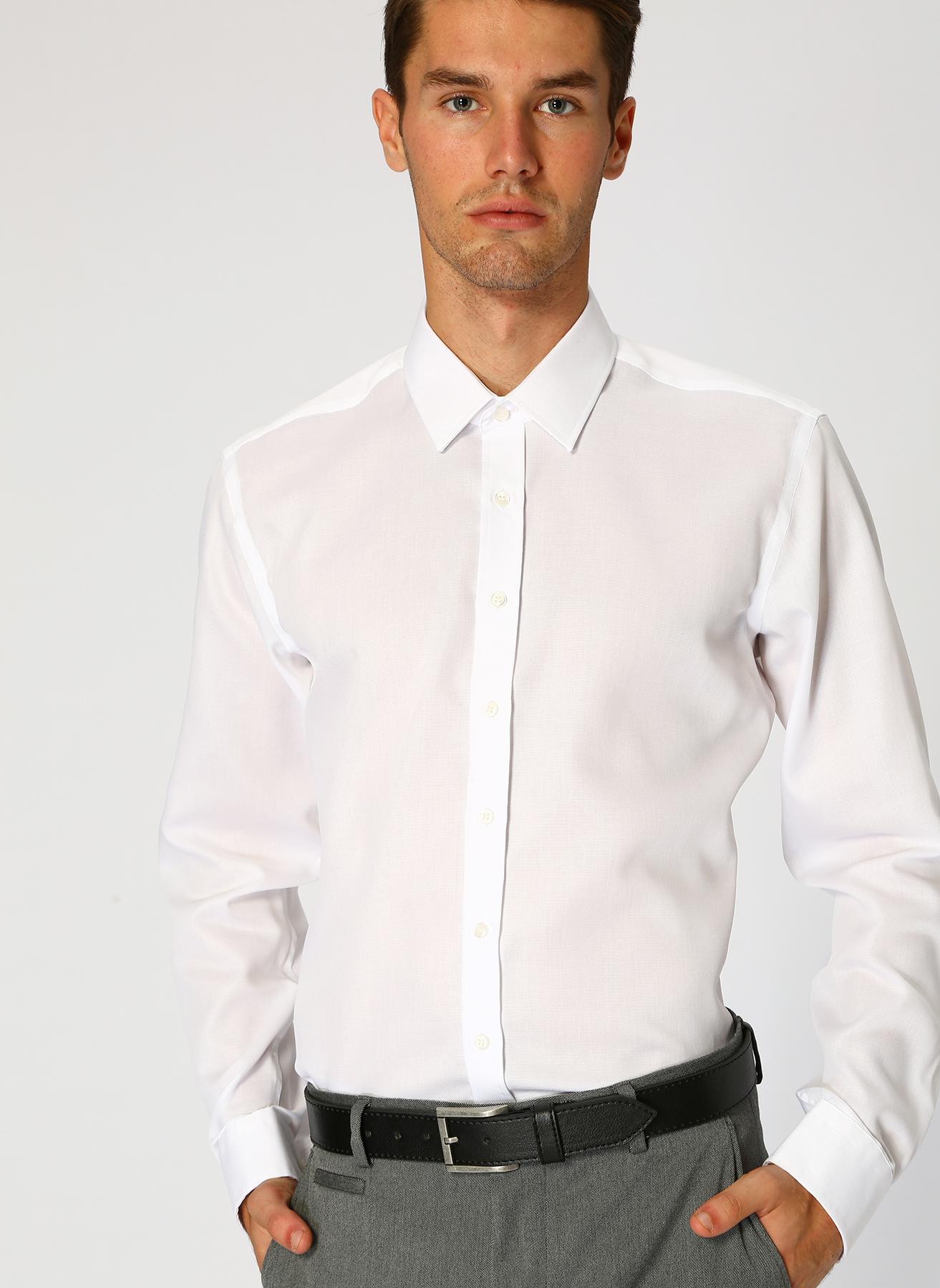 George Hogg Beyaz Gömlek 44 5001699479006 Ürün Resmi