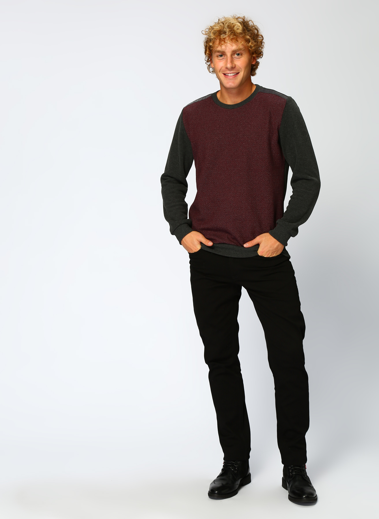 Lee Cooper Şarap Sweatshirt S 5001700013003 Ürün Resmi