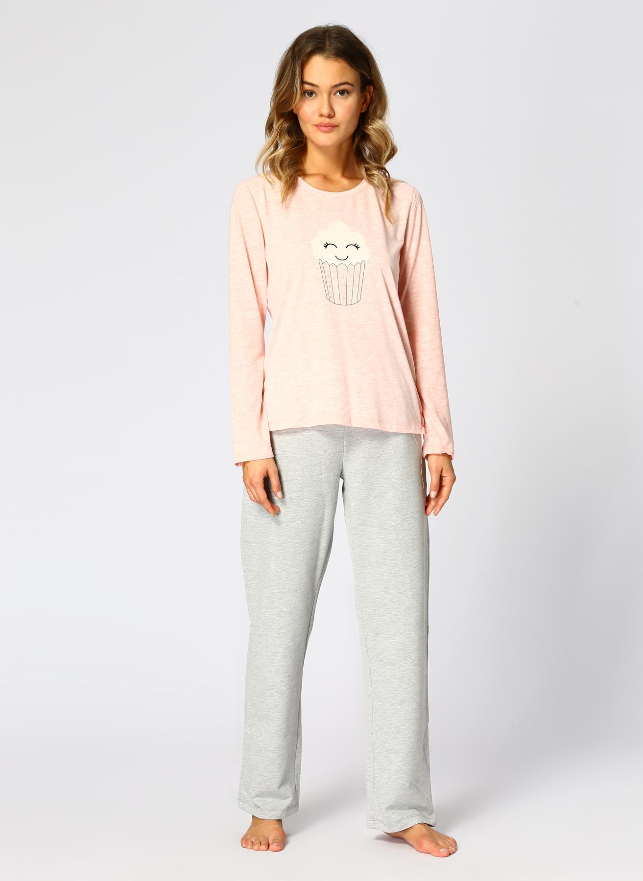 T-Box Pembe Pijama Takımı L 5001700544003 Ürün Resmi