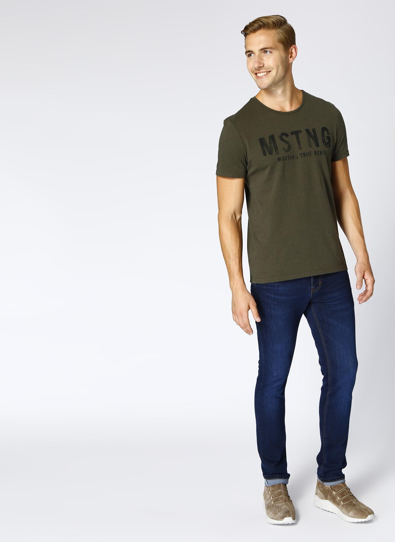 Mustang Slim İndigo Klasik Pantolon 31-32 5001702255001 Ürün Resmi