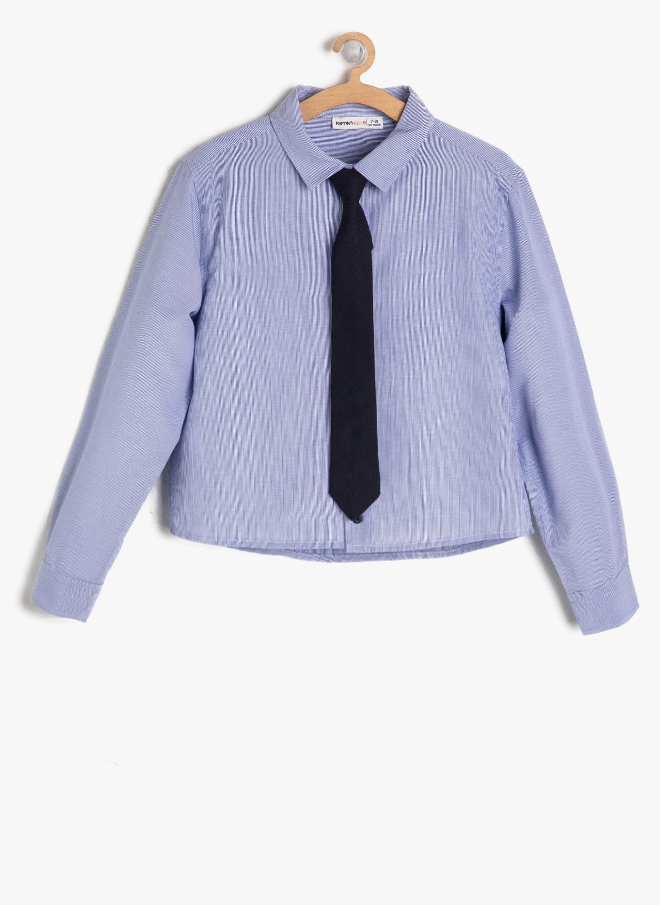 Koton Mavi Gömlek 11 Yaş 5001702983001 Ürün Resmi