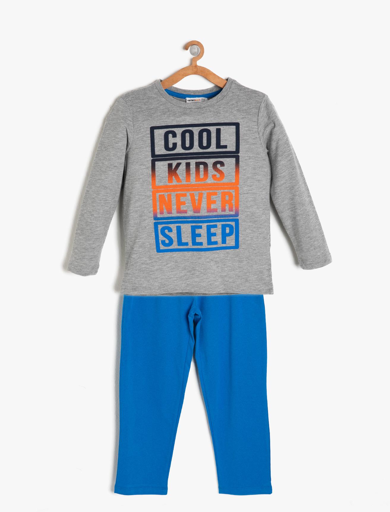 Koton Pijama Takımı 7 Yaş 5001703167006 Ürün Resmi