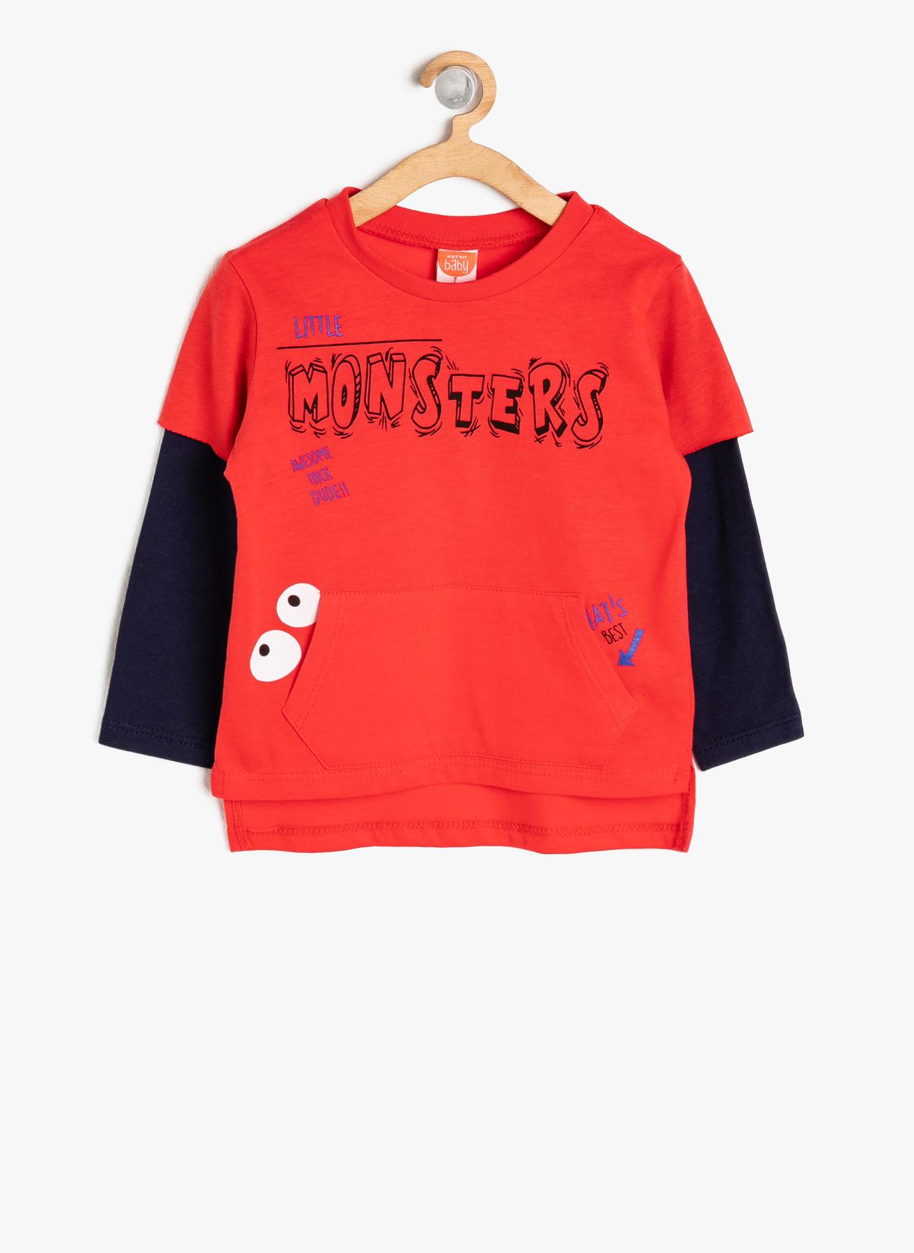 Koton Kırmızı T-Shirt 24 Ay 5001703361003 Ürün Resmi