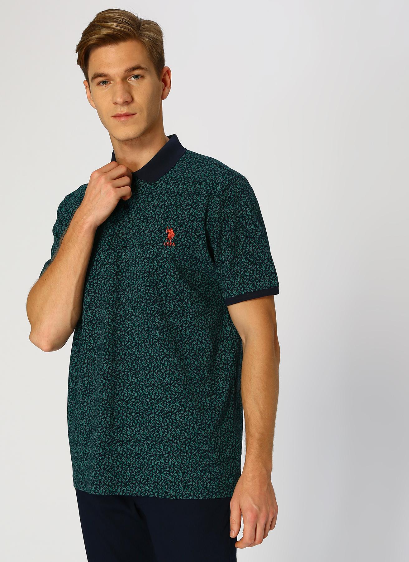 U.S. Polo Assn. Lacivert T-Shirt M 5001704351003 Ürün Resmi
