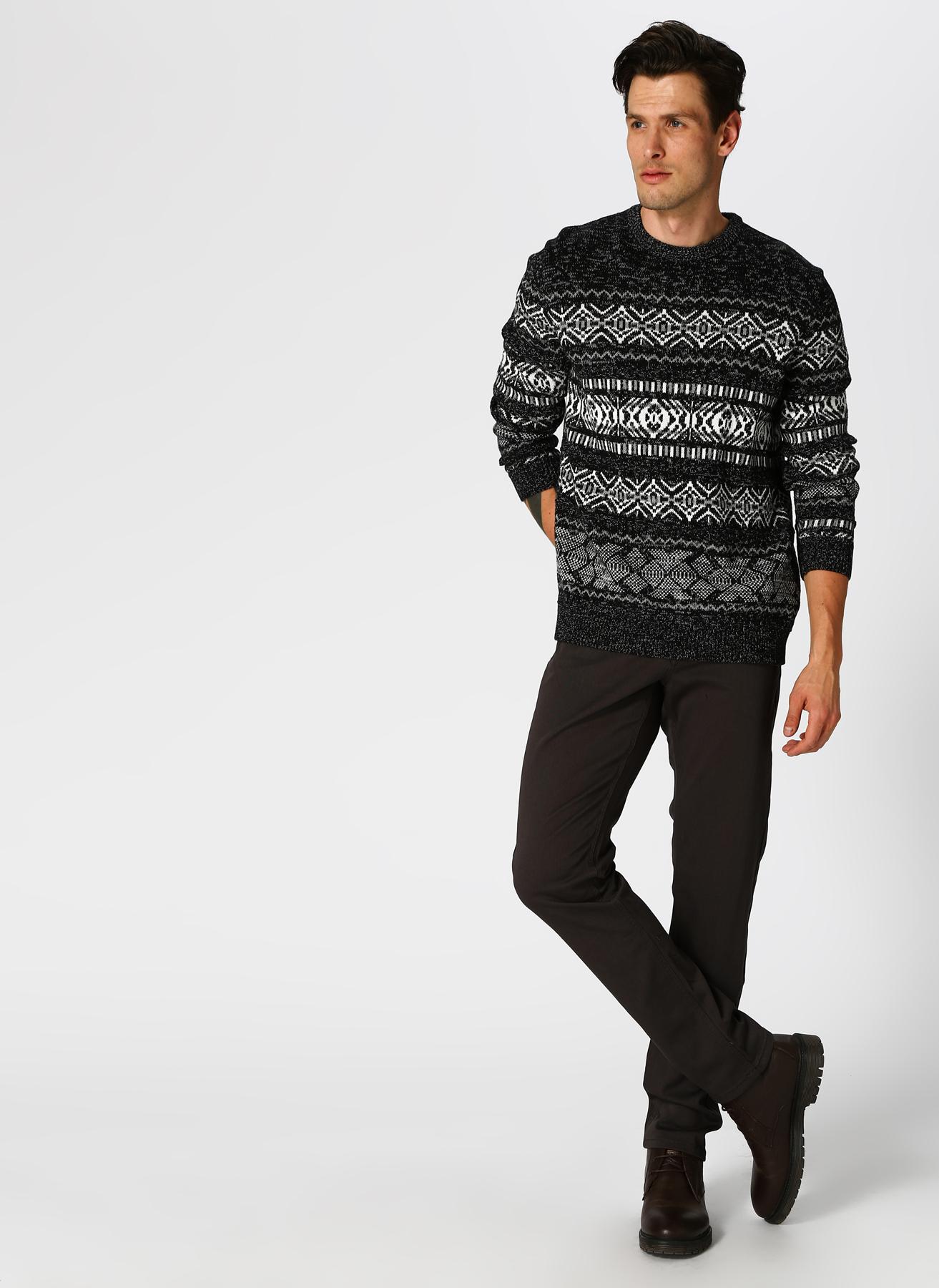U.S. Polo Assn. Slim Fit Antrasit Klasik Pantolon 34 5001704354003 Ürün Resmi