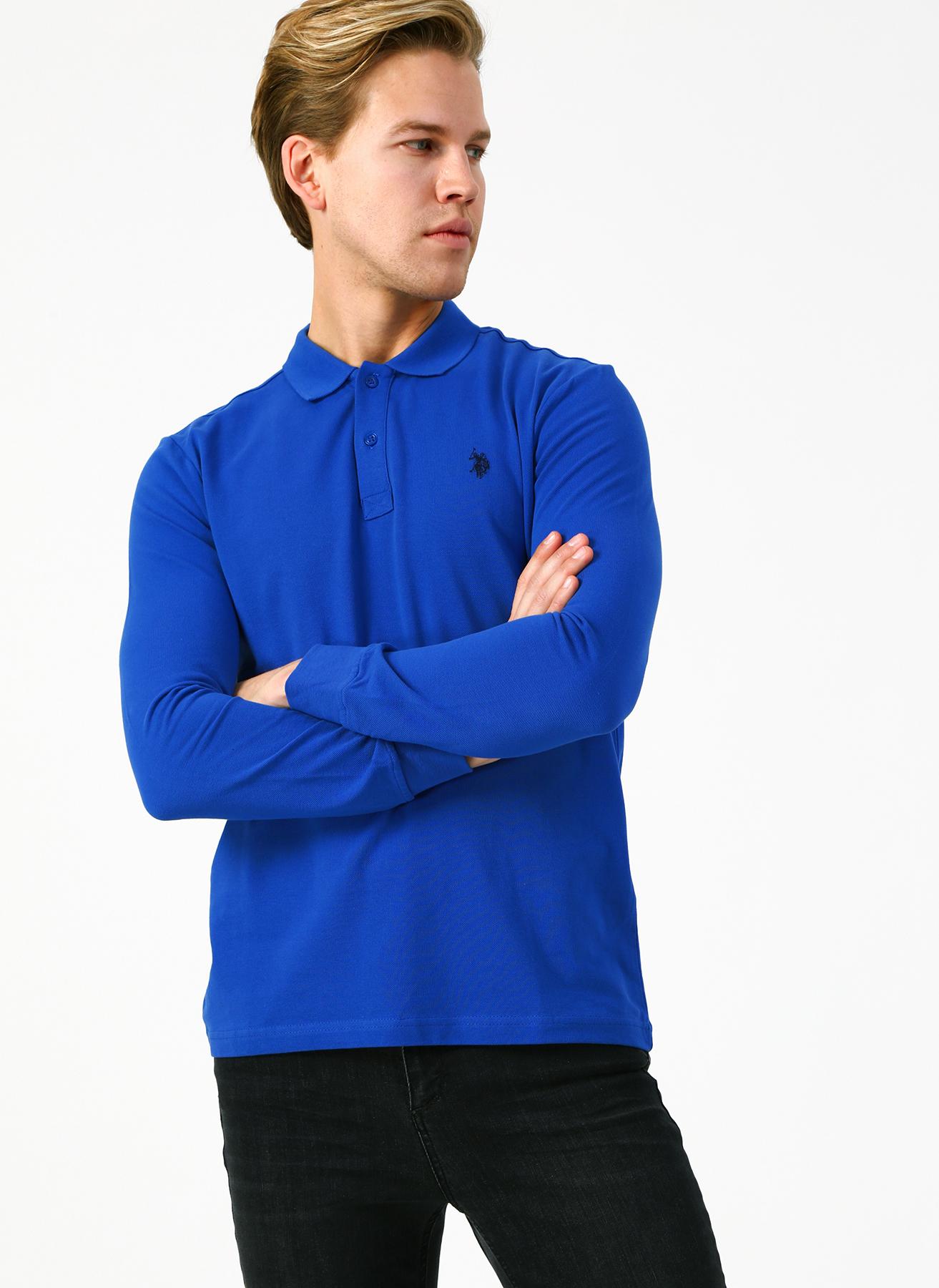 U.S. Polo Assn. Polo Yaka Lacivert Sweatshirt S 5001704369003 Ürün Resmi