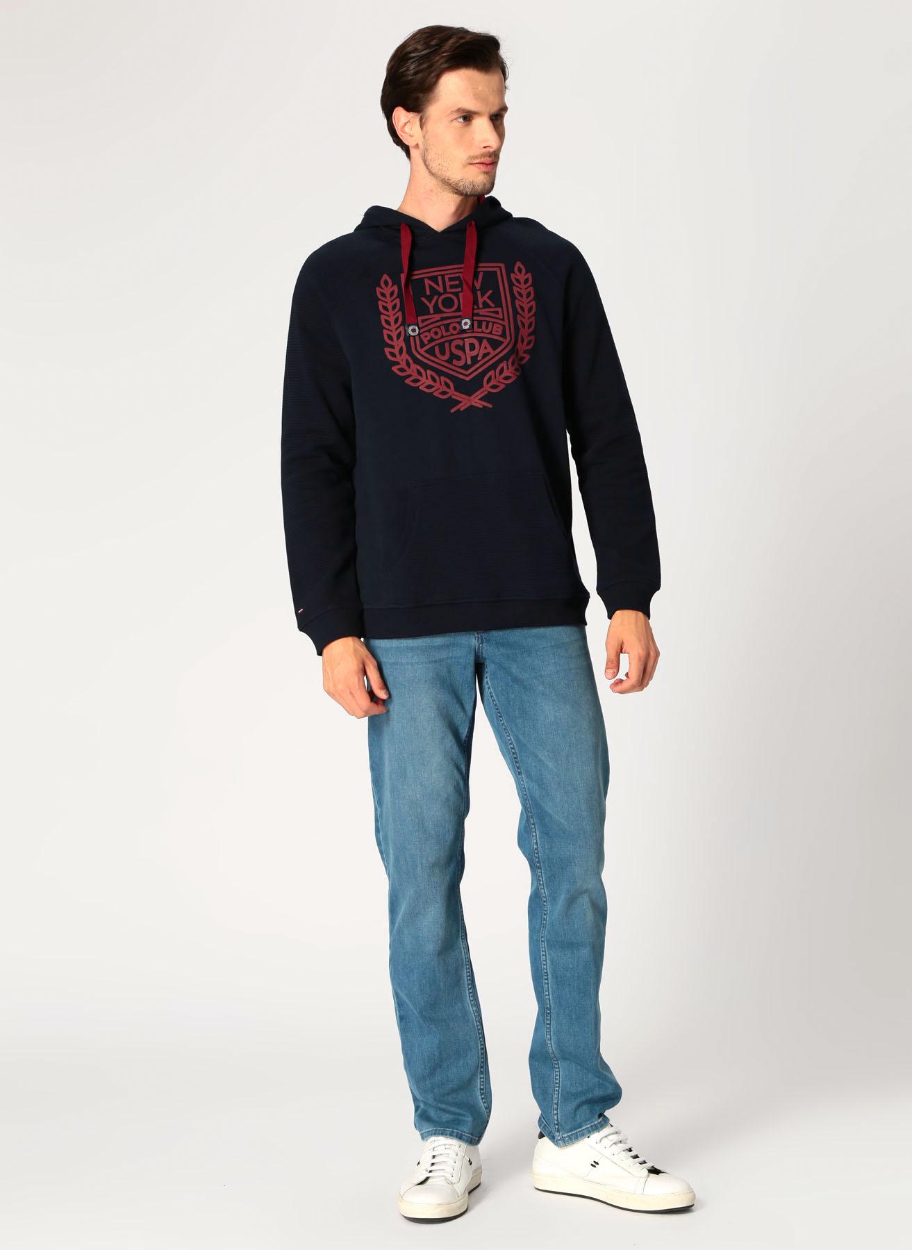 U.S. Polo Assn. Koyu Lacivert Sweatshirt XL 5001704412002 Ürün Resmi