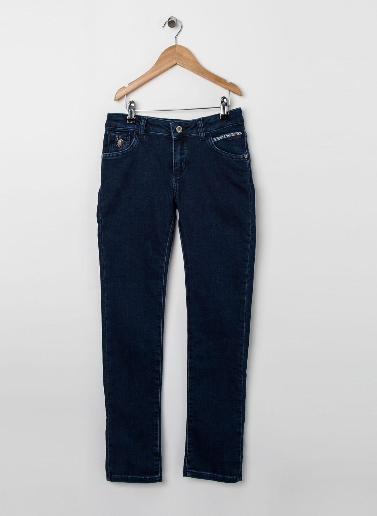 U.S. Polo Assn. Kız Çocuk Lacivert Pantolon 9 Yaş 5001704527010 Ürün Resmi