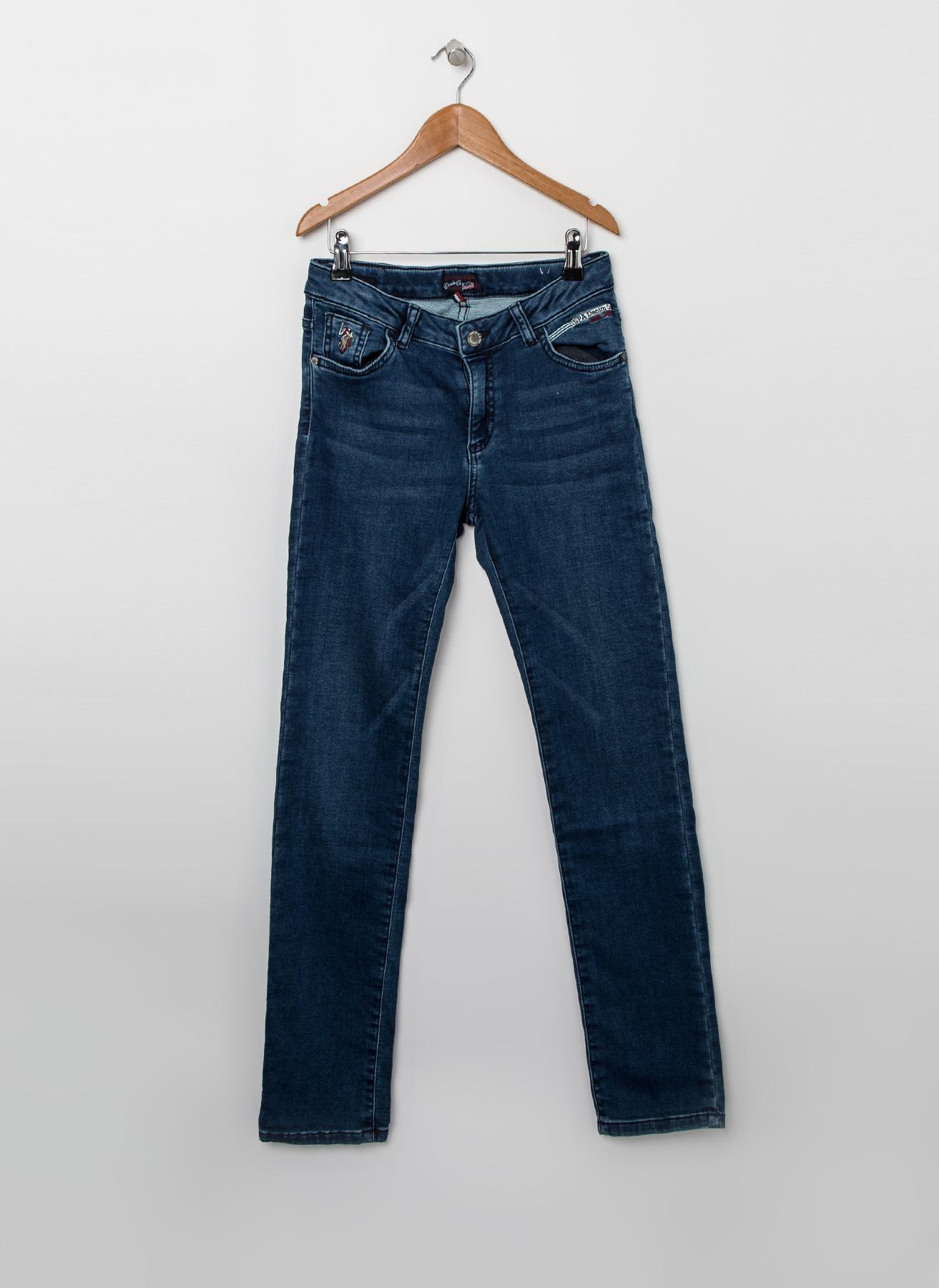 U.S. Polo Assn. İndigo Pantolon 13 Yaş 5001704528004 Ürün Resmi
