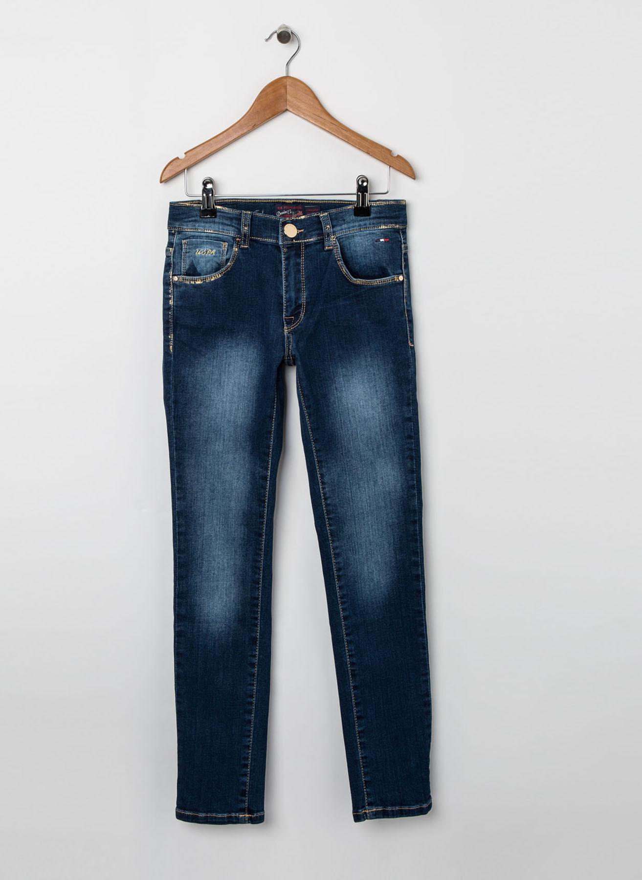 U.S. Polo Assn. Genç Kız Lacivert Pantolon 8 Yaş 5001704557010 Ürün Resmi