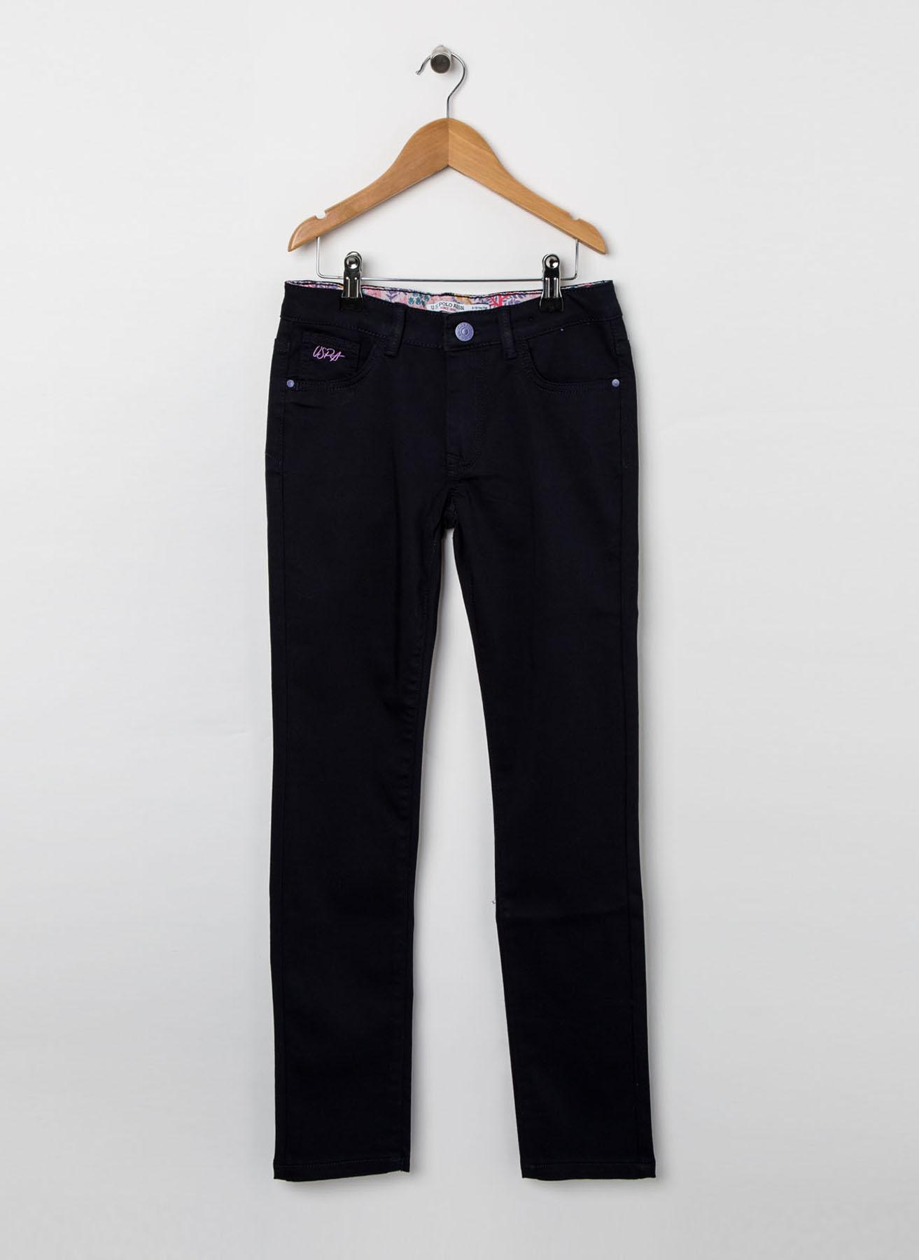 U.S. Polo Assn. Genç Kız Lacivert Pantolon 9 Yaş 5001704559011 Ürün Resmi