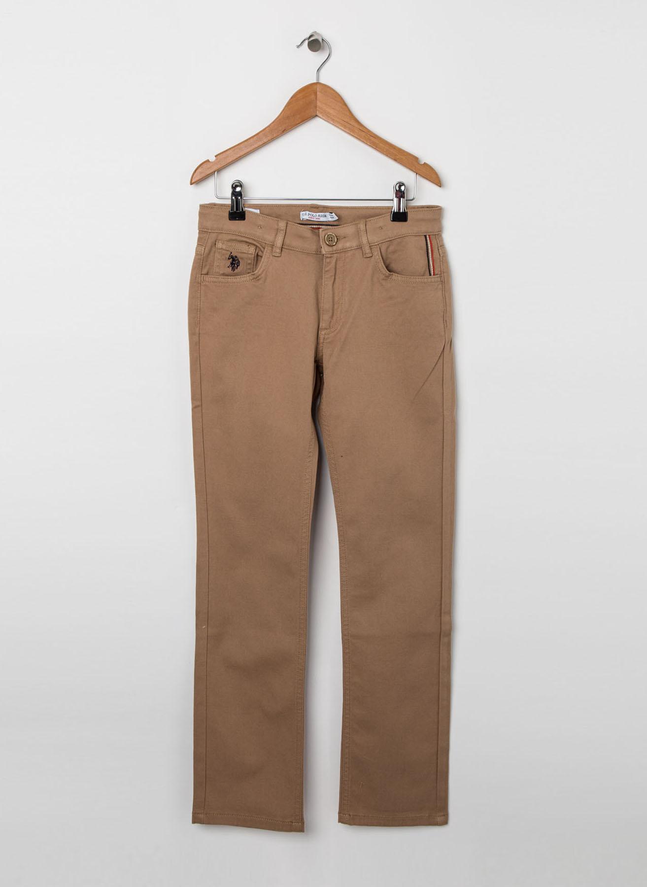 U.S. Polo Assn. Genç Erkek Camel Pantolon 5 Yaş 5001704562007 Ürün Resmi