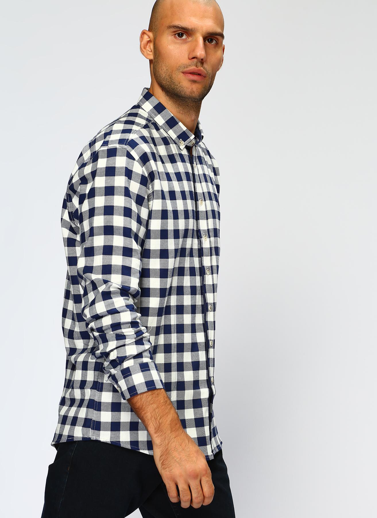 U.S. Polo Assn. Koyu Lacivert Gömlek L 5001704600001 Ürün Resmi
