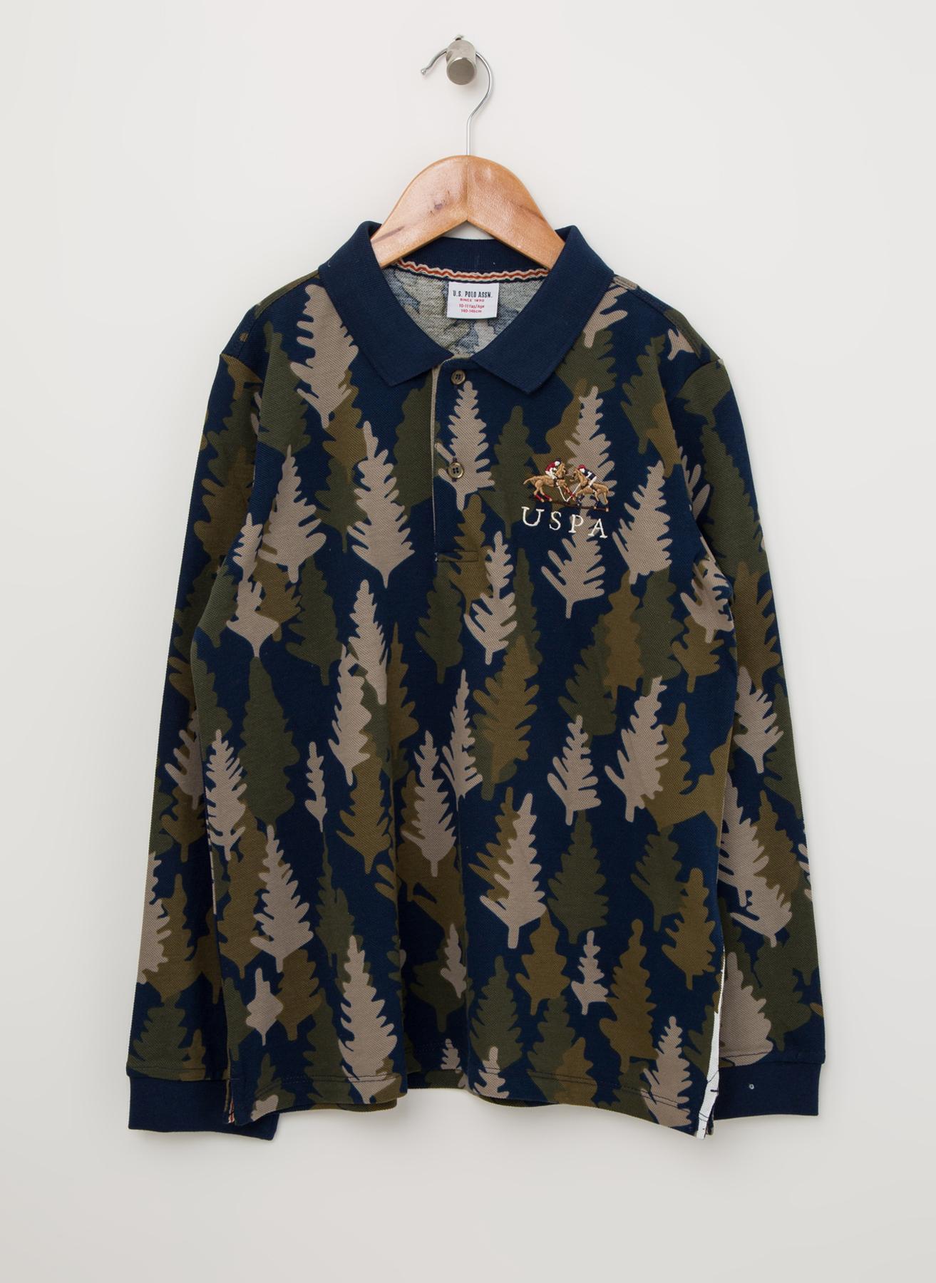 U.S. Polo Assn. Polo Yaka Sweatshirt 4 Yaş 5001704628005 Ürün Resmi