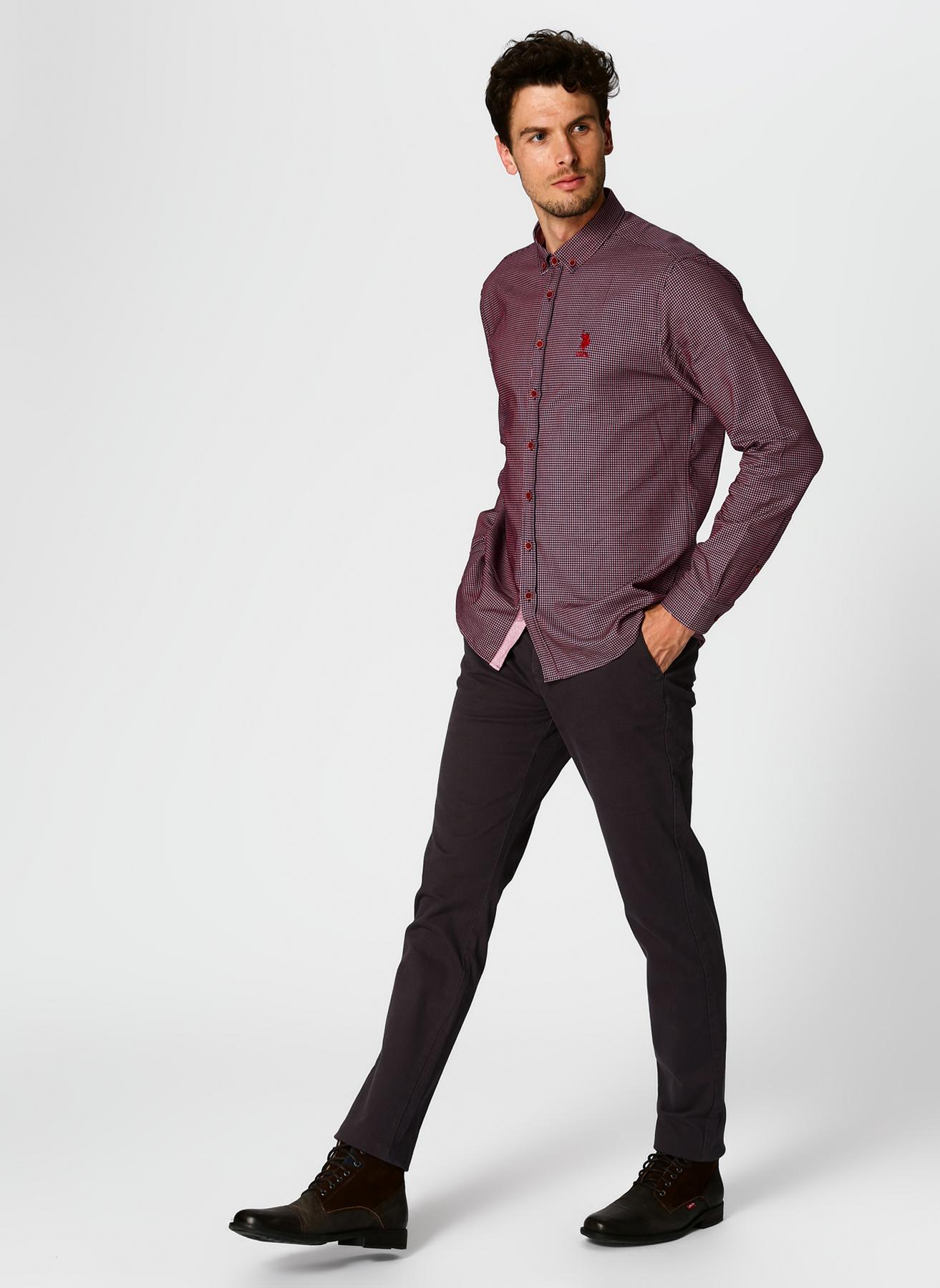 U.S. Polo Assn. Antrasit Klasik Pantolon 34 5001704744004 Ürün Resmi