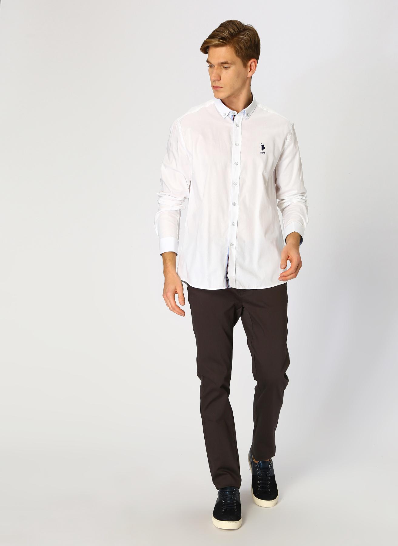U.S. Polo Assn. Antrasit Klasik Pantolon 34 5001704770007 Ürün Resmi