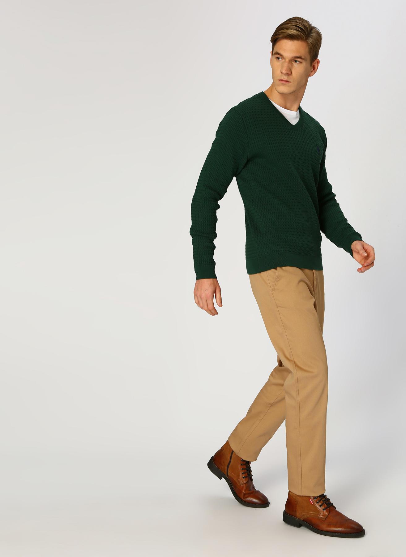 U.S. Polo Assn. Camel Klasik Pantolon 38 5001704771003 Ürün Resmi
