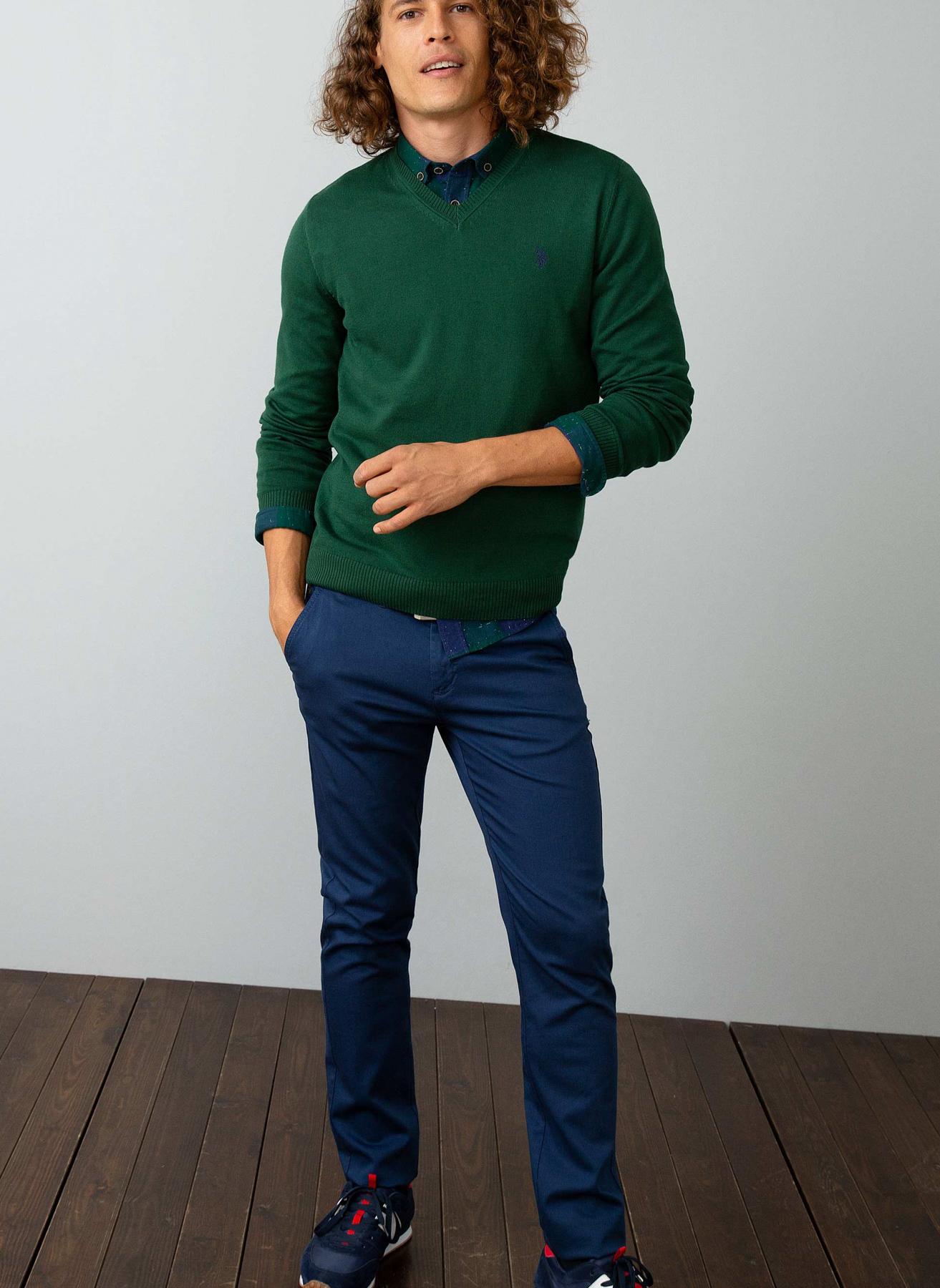 U.S. Polo Assn. İndigo Klasik Pantolon 29 5001704773002 Ürün Resmi