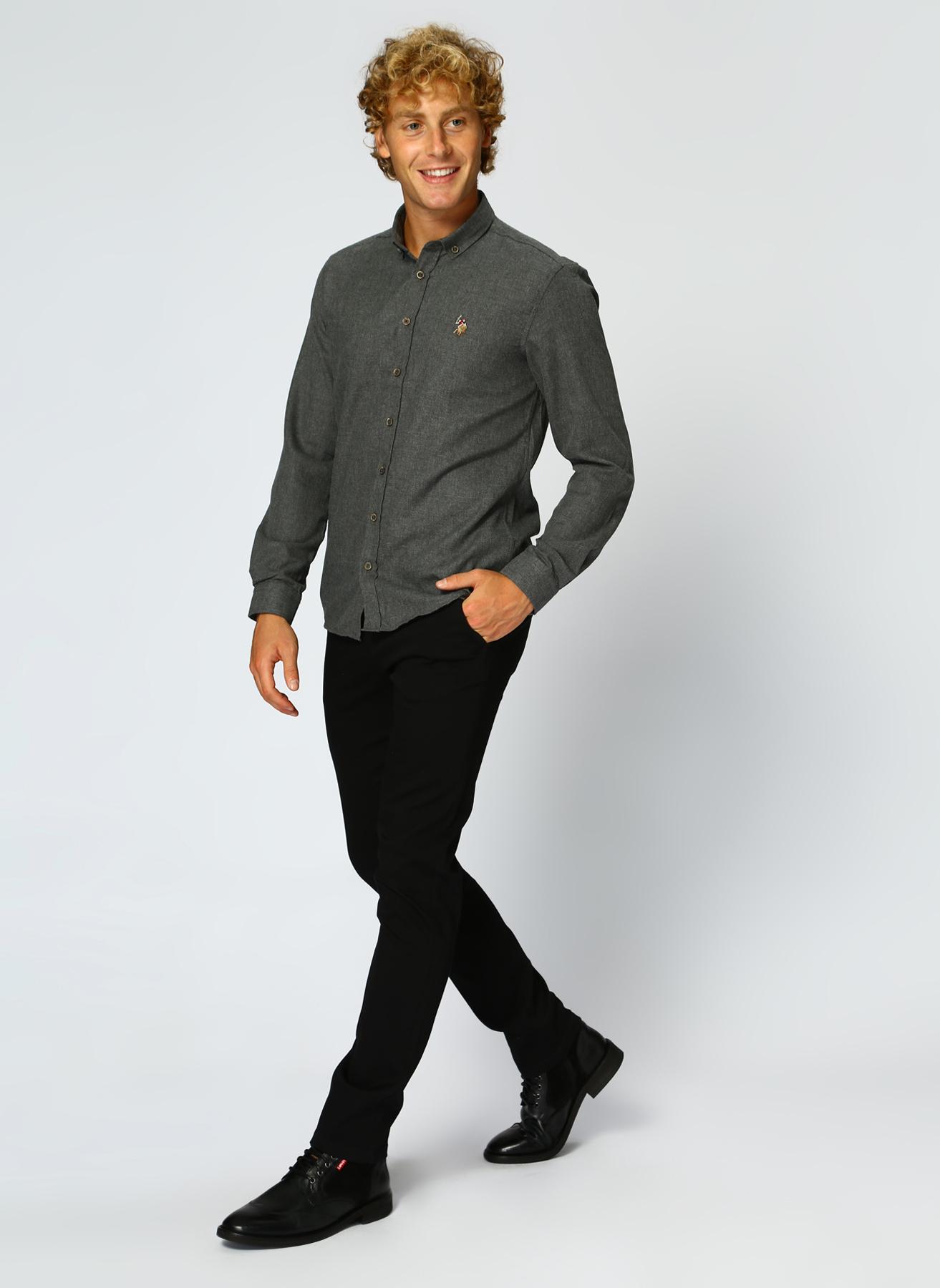 U.S. Polo Assn. Siyah Klasik Pantolon 31 5001704776001 Ürün Resmi