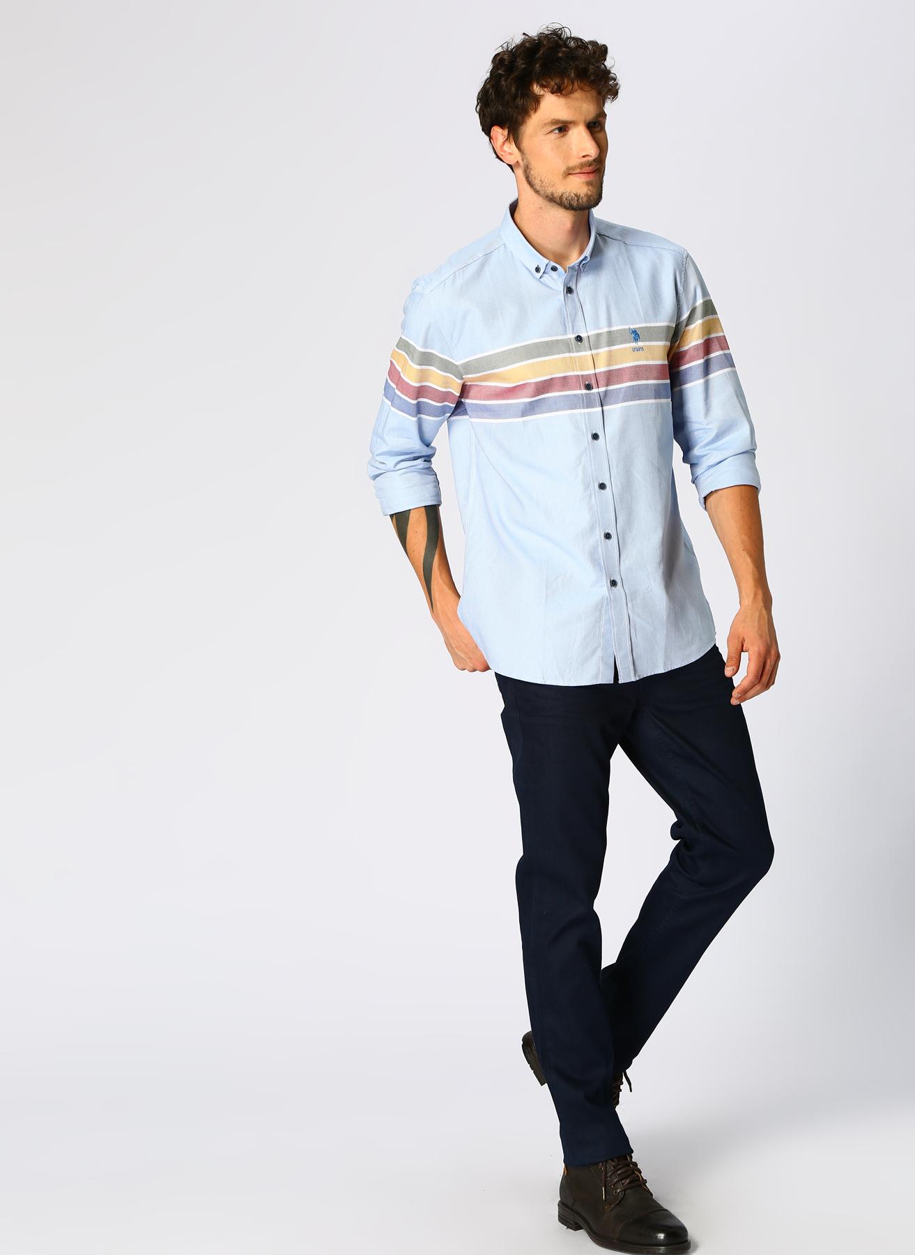 U.S. Polo Assn. Koyu Lacivert Denim Pantolon 31-32 5001704810009 Ürün Resmi