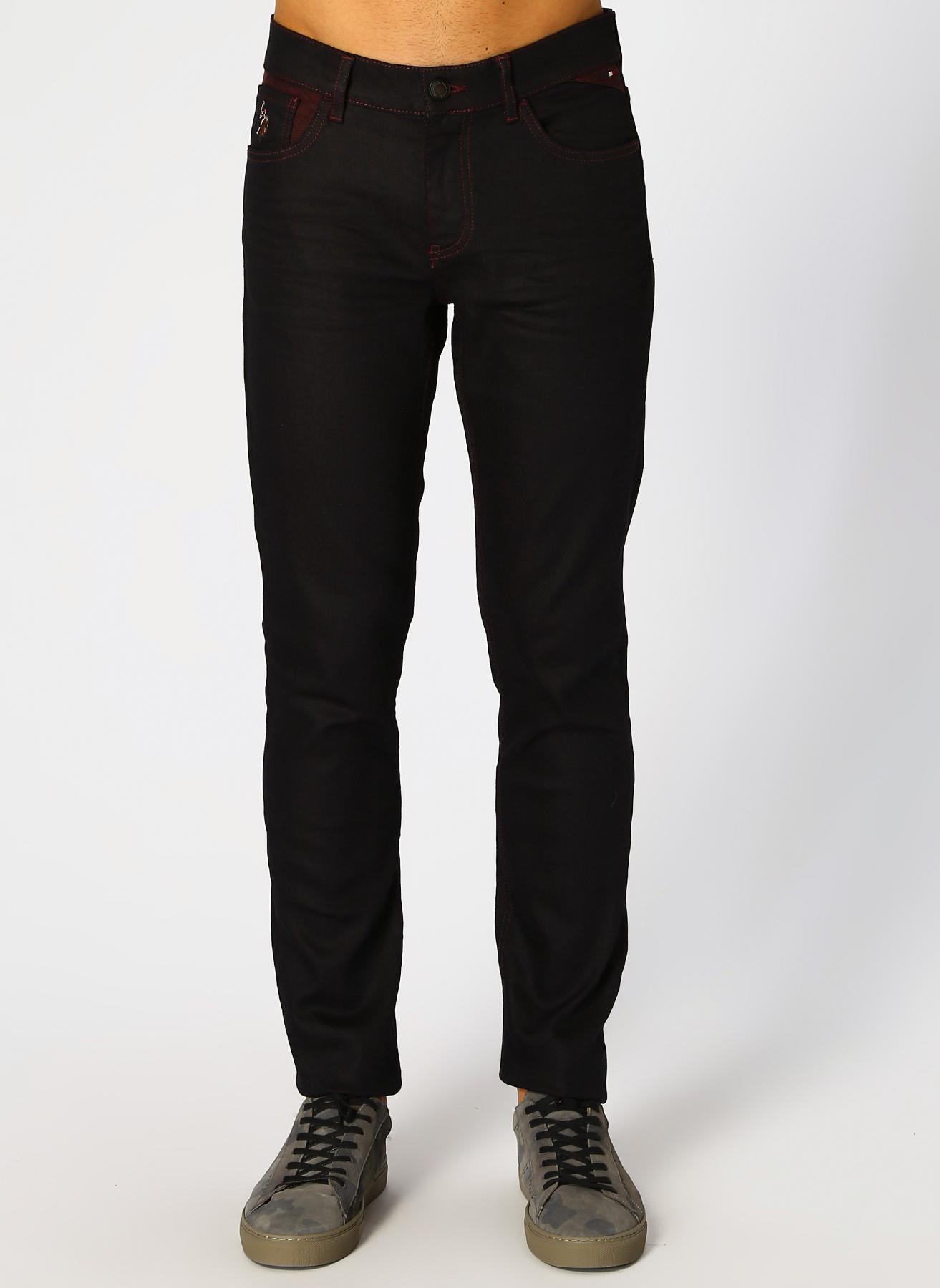 U.S. Polo Assn. Slim Fit Koyu Bordo Denim Pantolon 32-32 5001704811006 Ürün Resmi