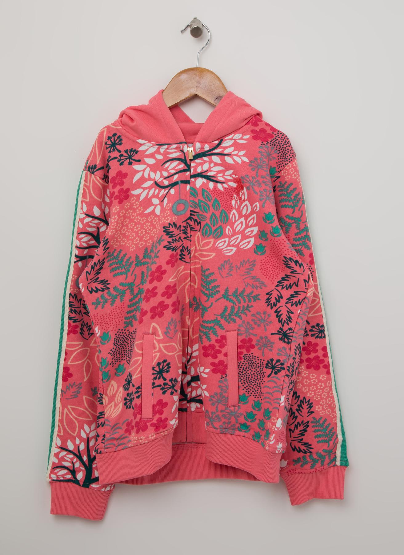 U.S. Polo Assn. Kapüşonlu Sweatshirt 10 Yaş 5001704820001 Ürün Resmi
